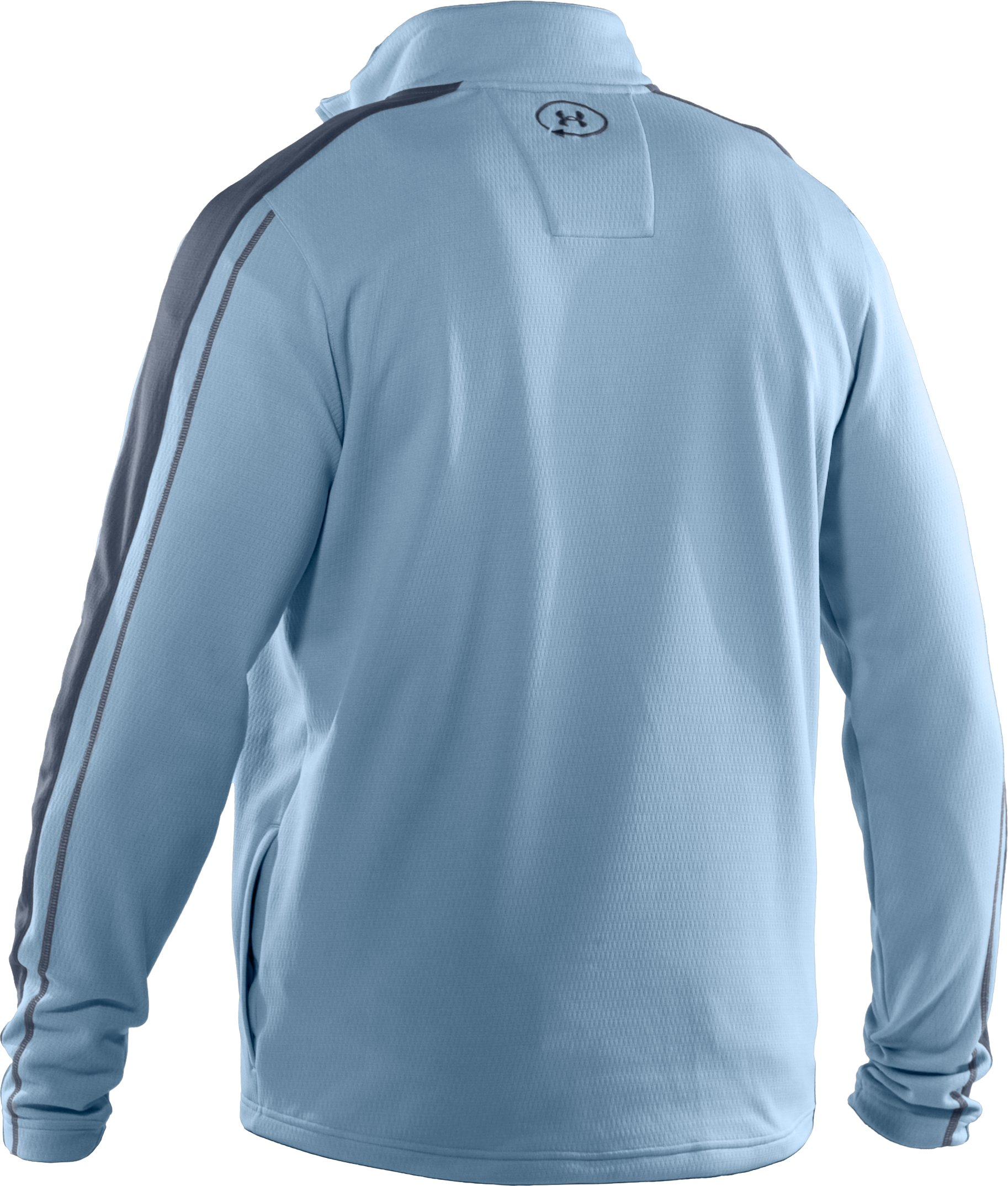 Men's UA Catalyst Focus 3.0 ¼ Zip Jacket, Solder