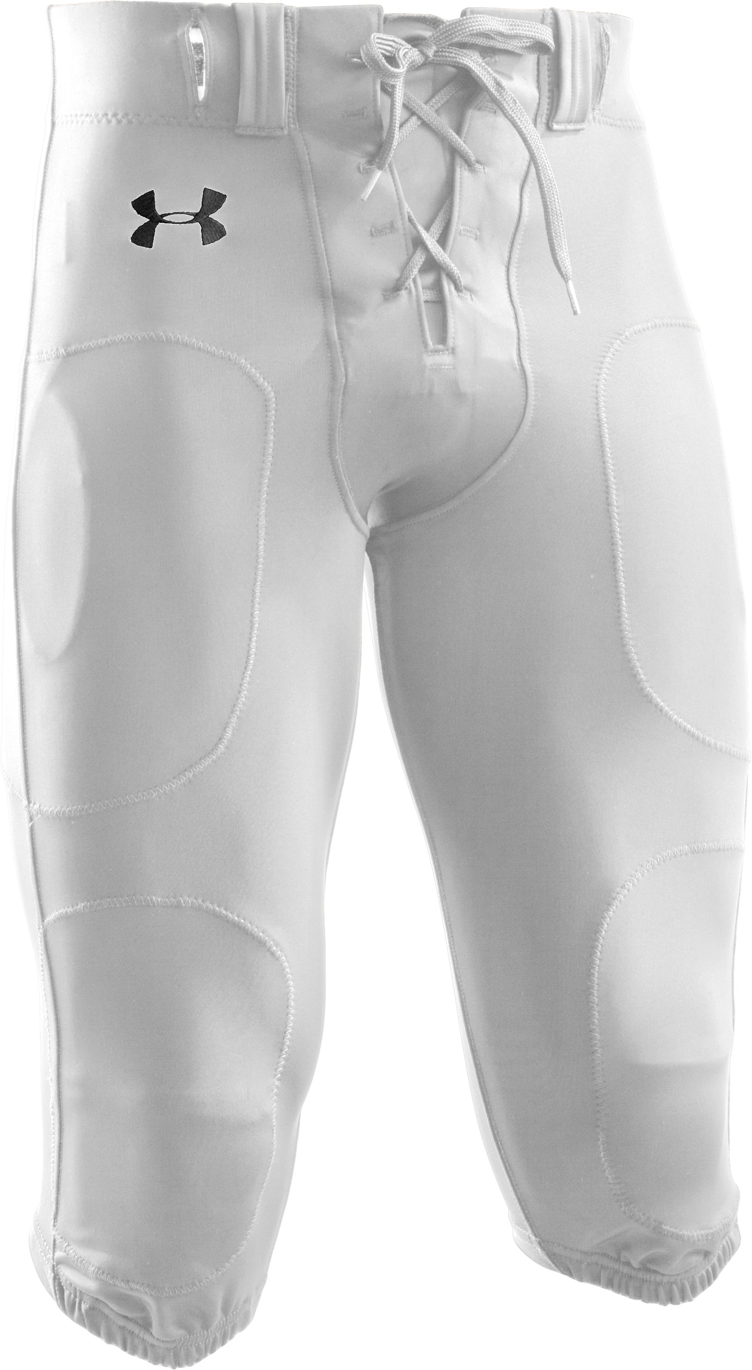 Men's Signature Football Pants, White, undefined