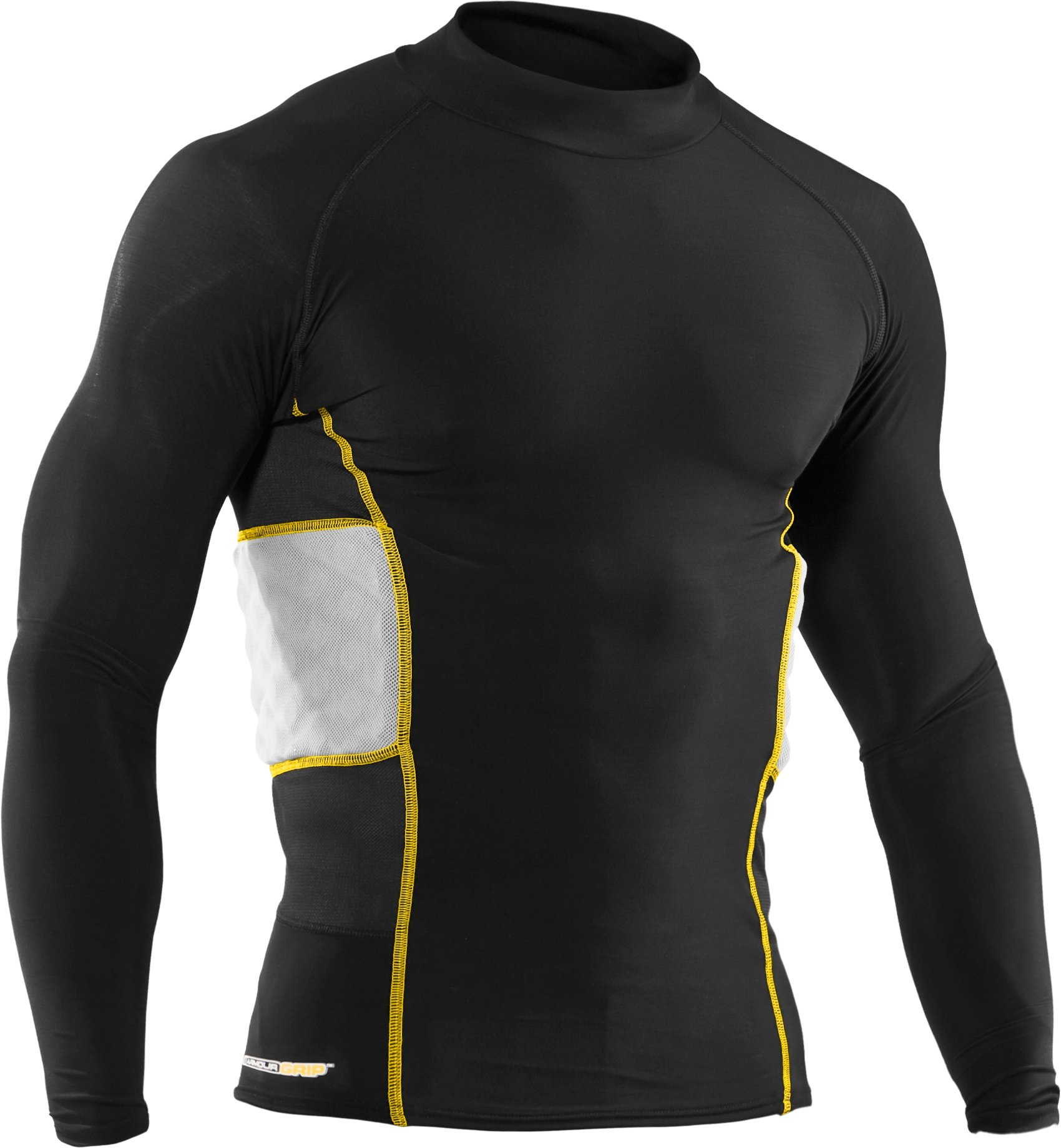Men's Hockey Gameday Armour® Compression Long Sleeve Shirt, Black