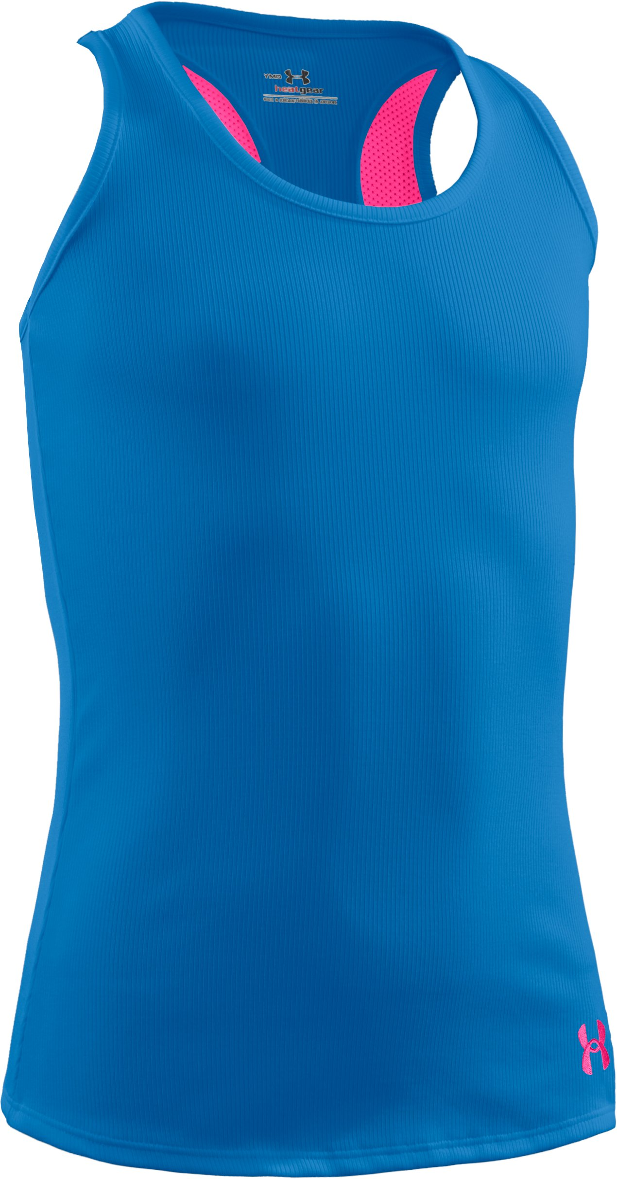 Girls' Victory Tank Top, Pool, zoomed image