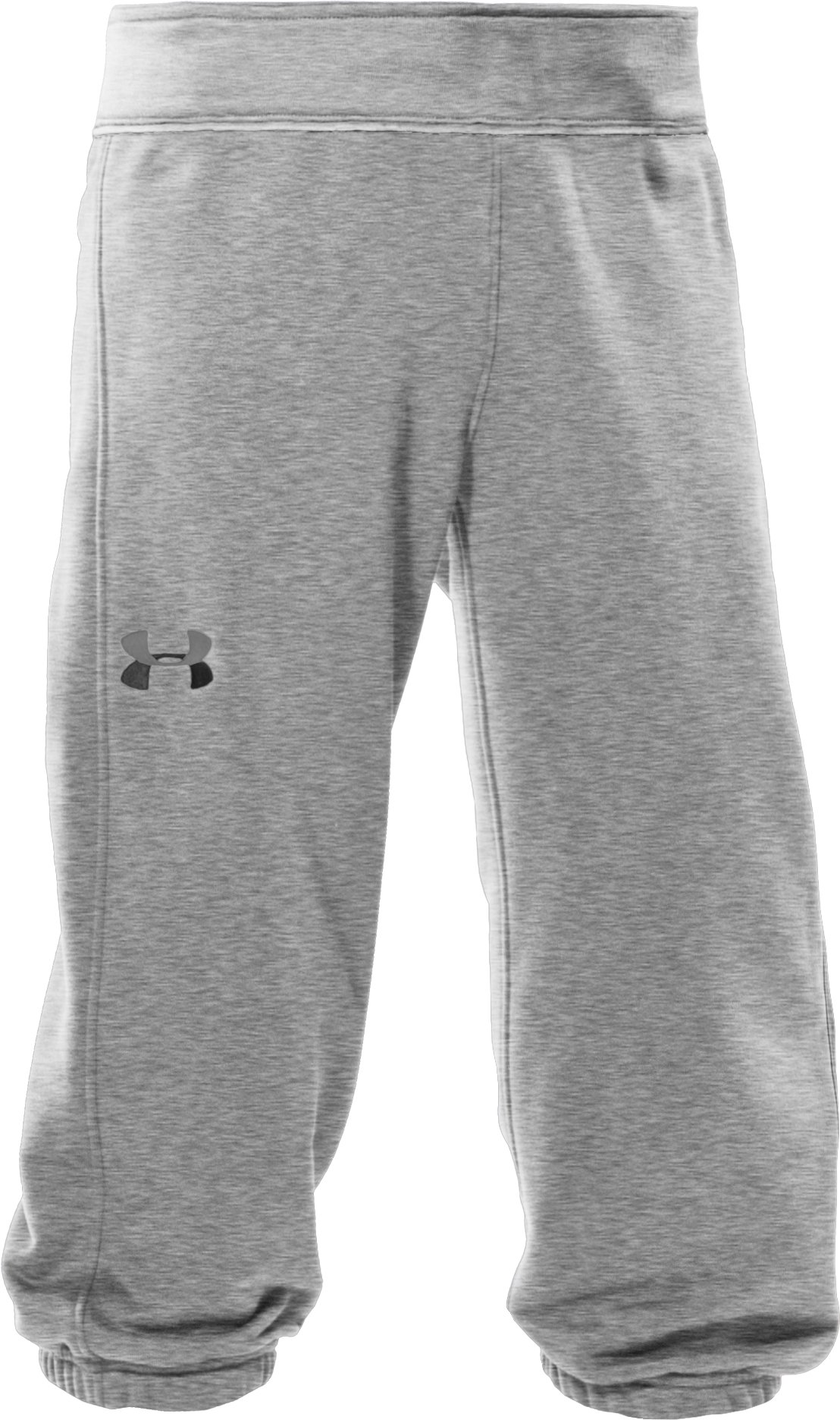 Girls' French Terry Capri Pants, True Gray Heather
