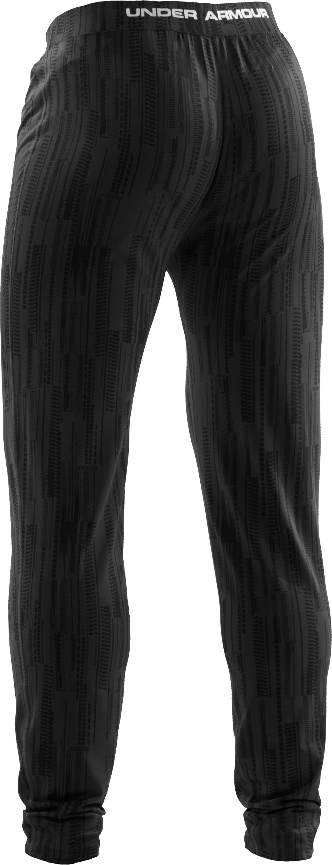 Men's ColdGear® Lux Fitted Leggings, Black