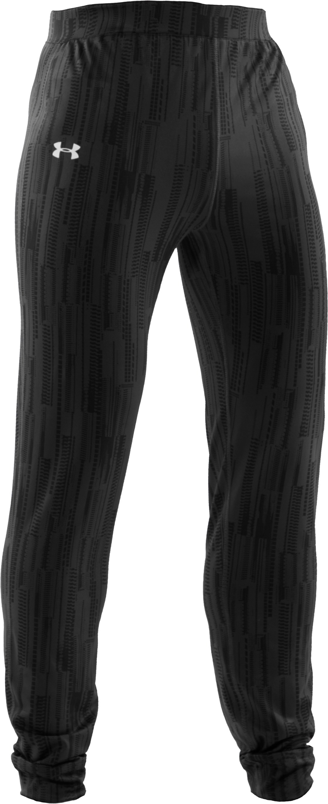 Men's ColdGear® Lux Fitted Leggings, Black , undefined