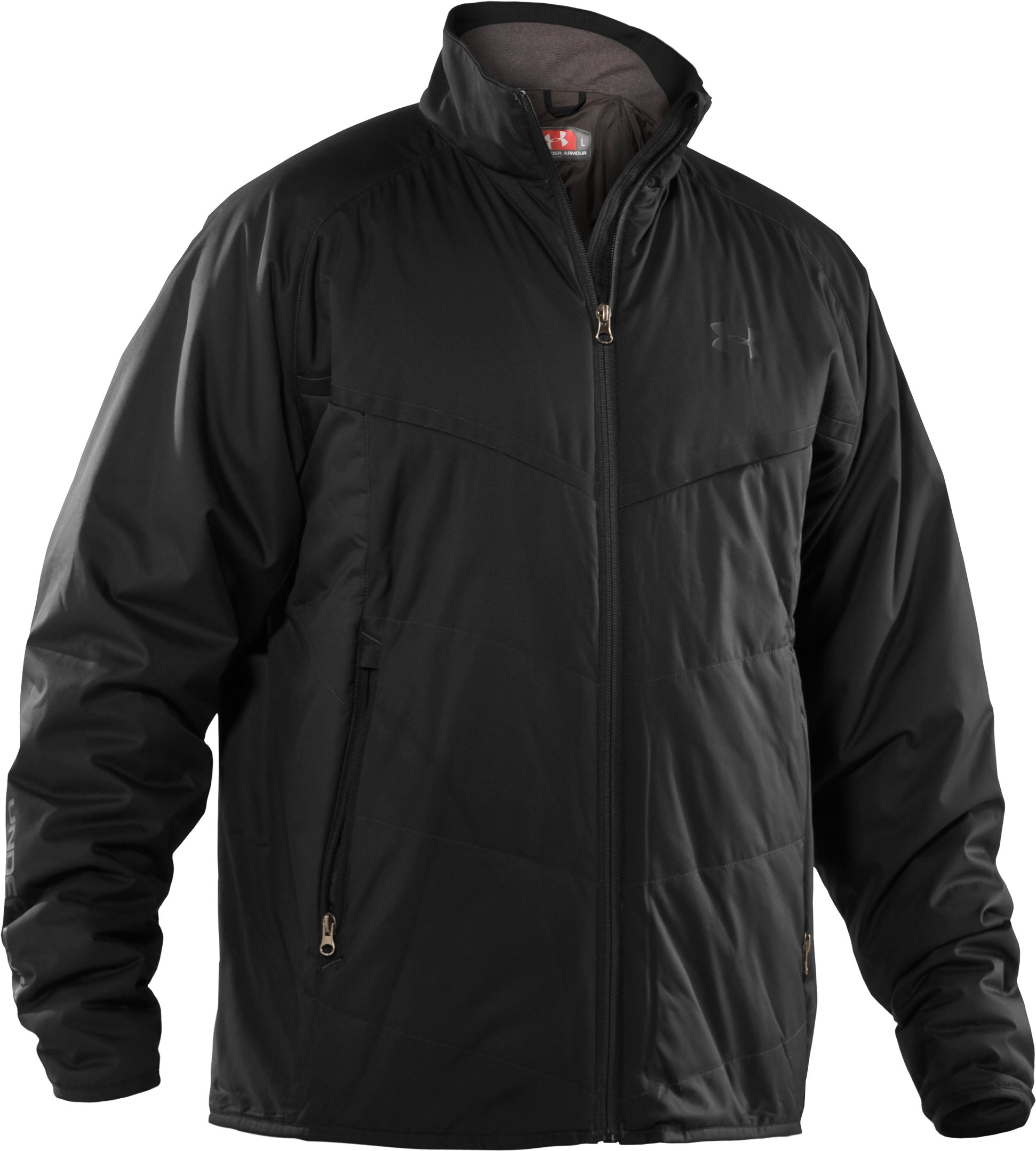 Men's ArmourLoft® Mountain Jacket, Black , undefined