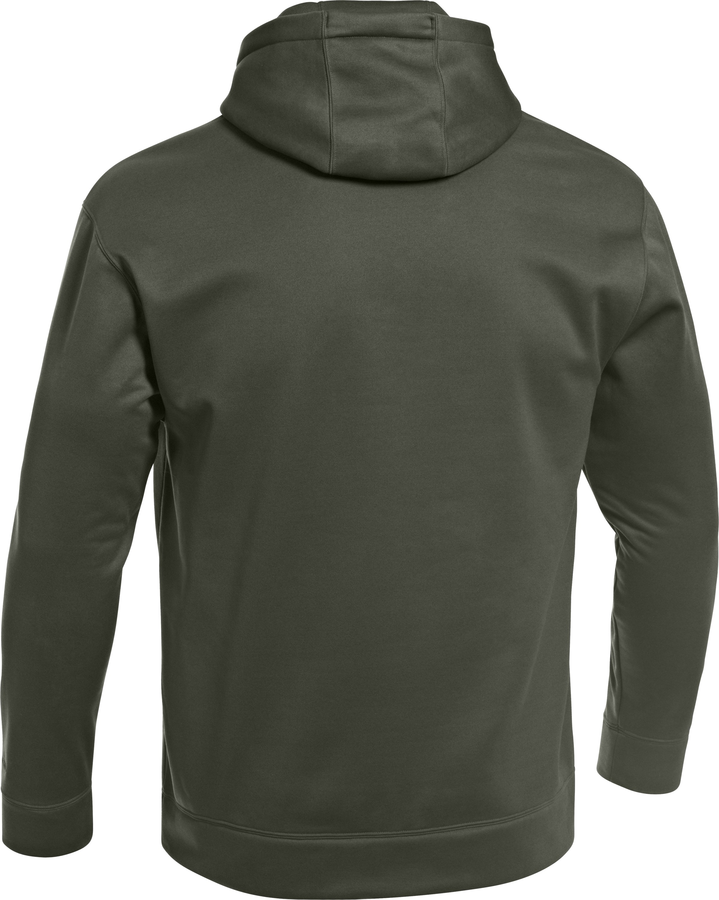 Men's UA Storm Armour® Fleece Solid Antler Hoodie, Rifle Green