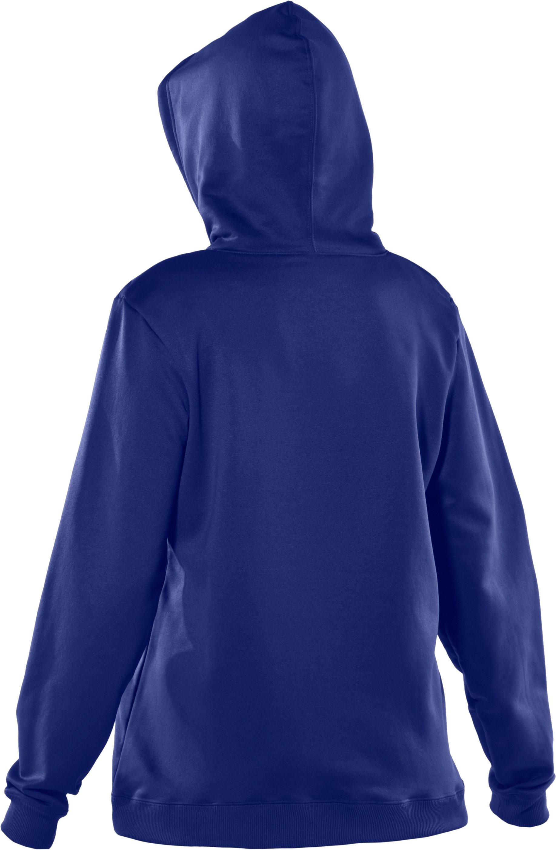 Women's Armour® Fleece Team Hoodie, Royal