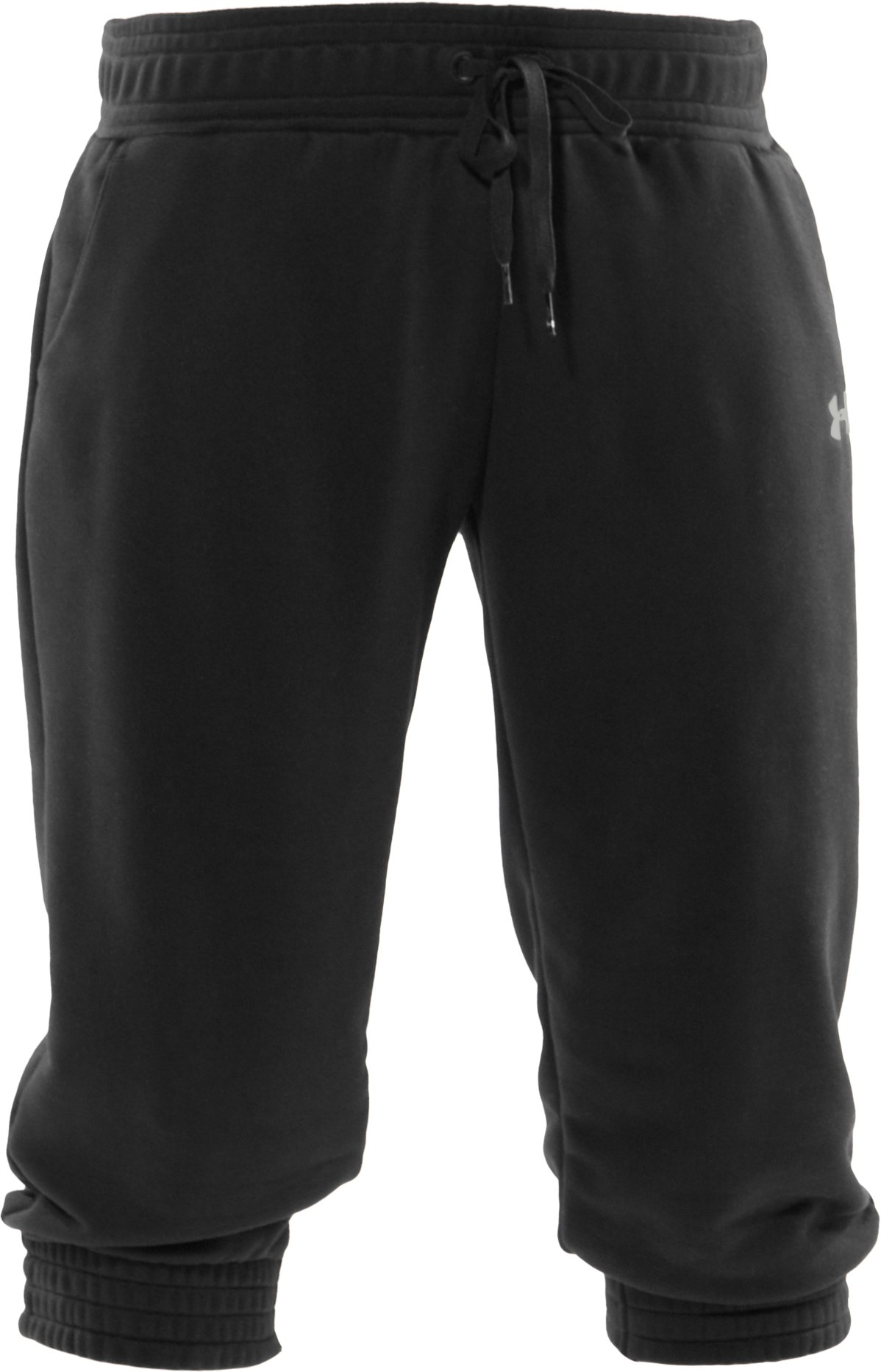 Women's Varsity Capri Pants, Black