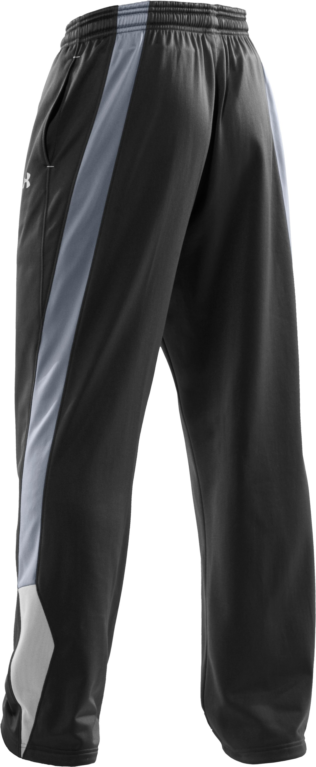 Men's Attack Knit Training Pants, Black , undefined