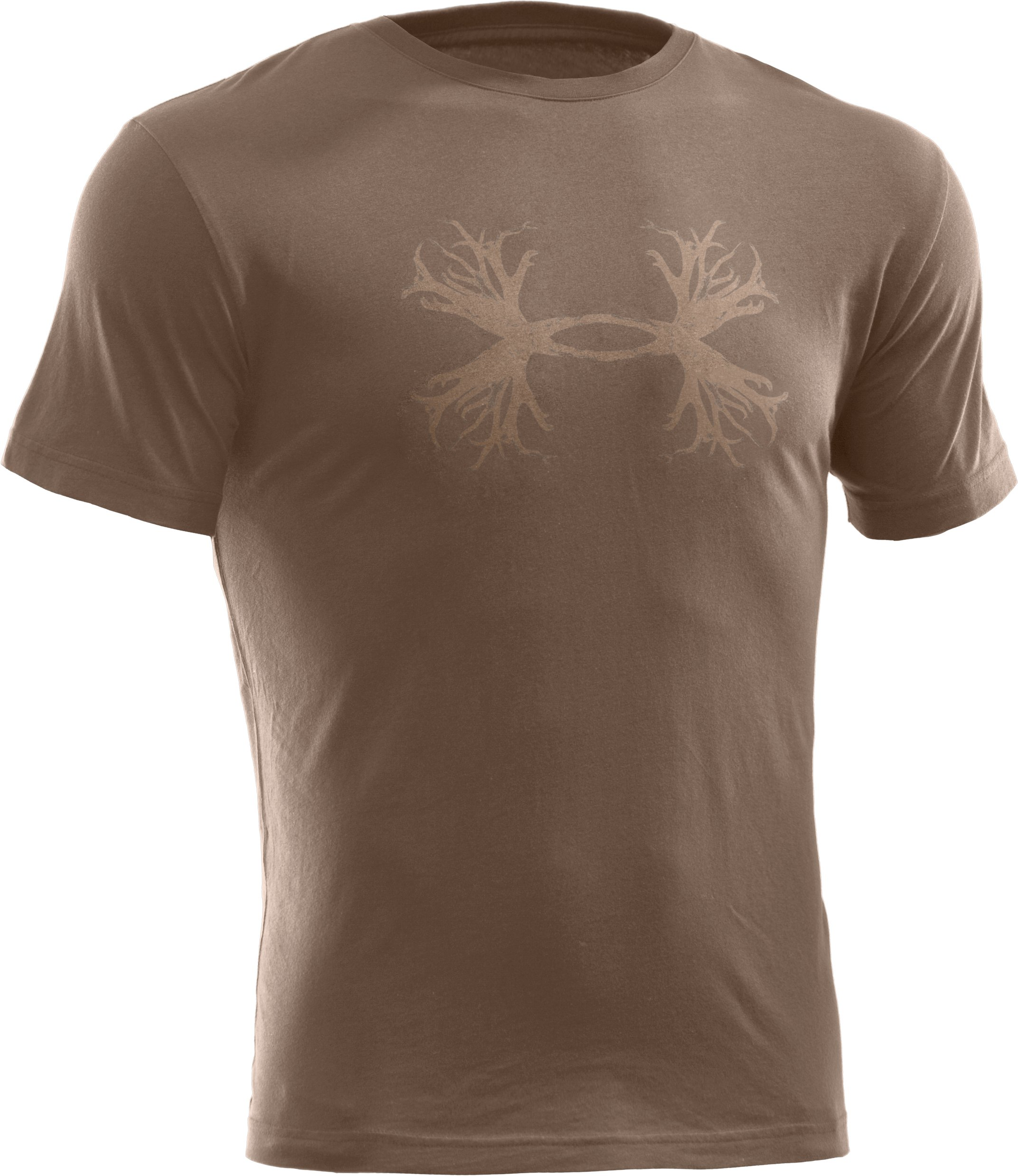 Men's UA Hunt Antler Logo T-Shirt, Uniform,