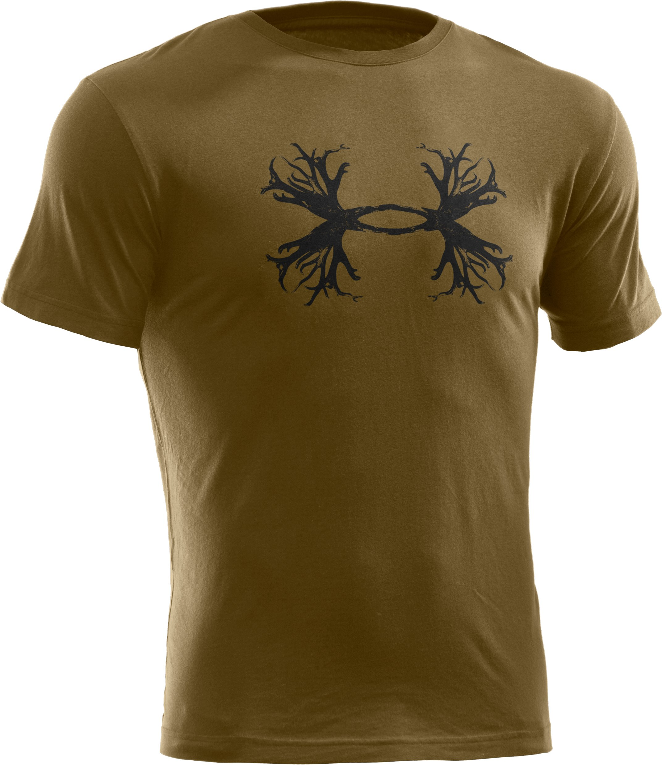 Men's UA Hunt Antler Logo T-Shirt, Drab