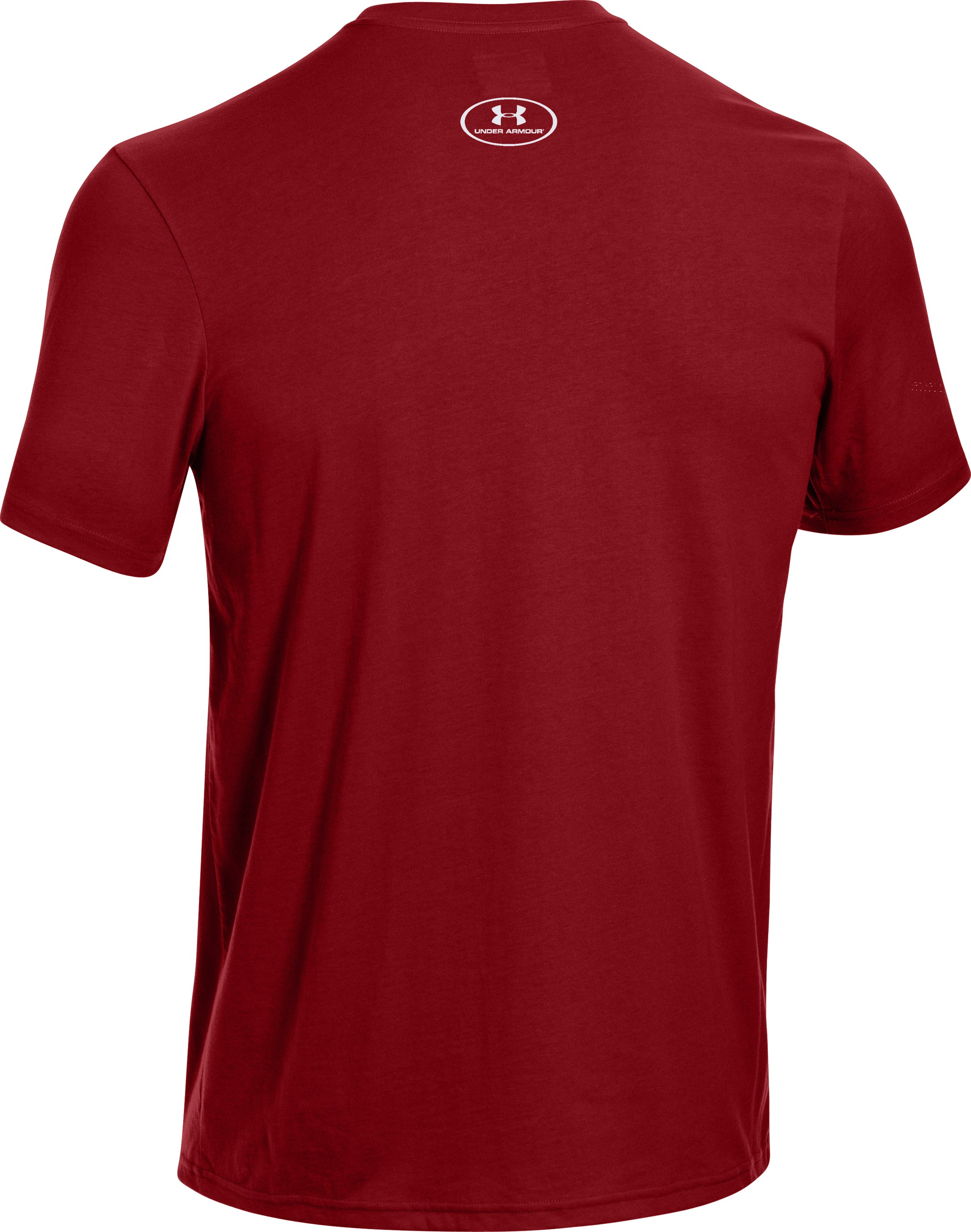 Men's UA Hunt Antler Logo T-Shirt, DAREDEVIL RED