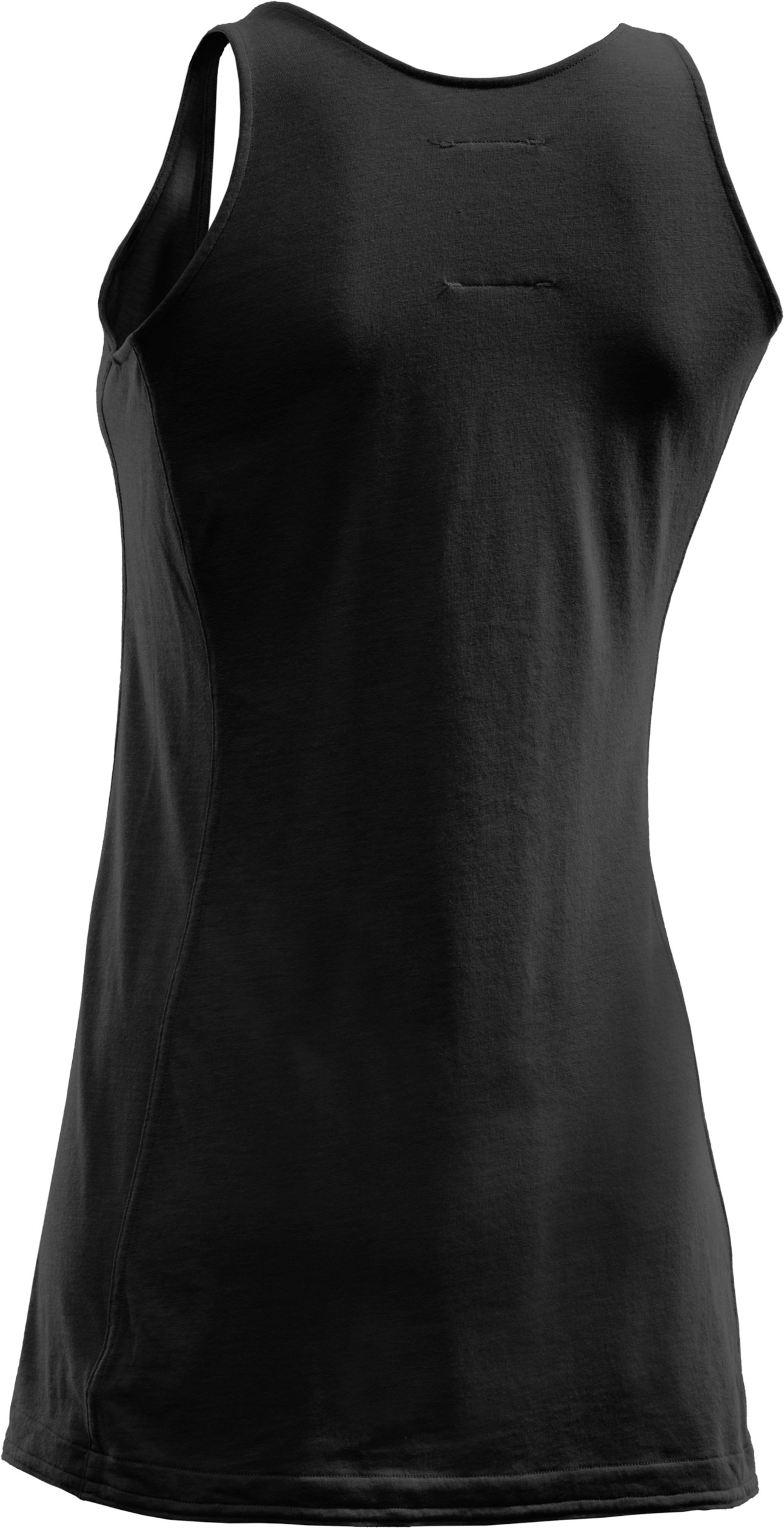 Women's Solid Tank, Black , undefined