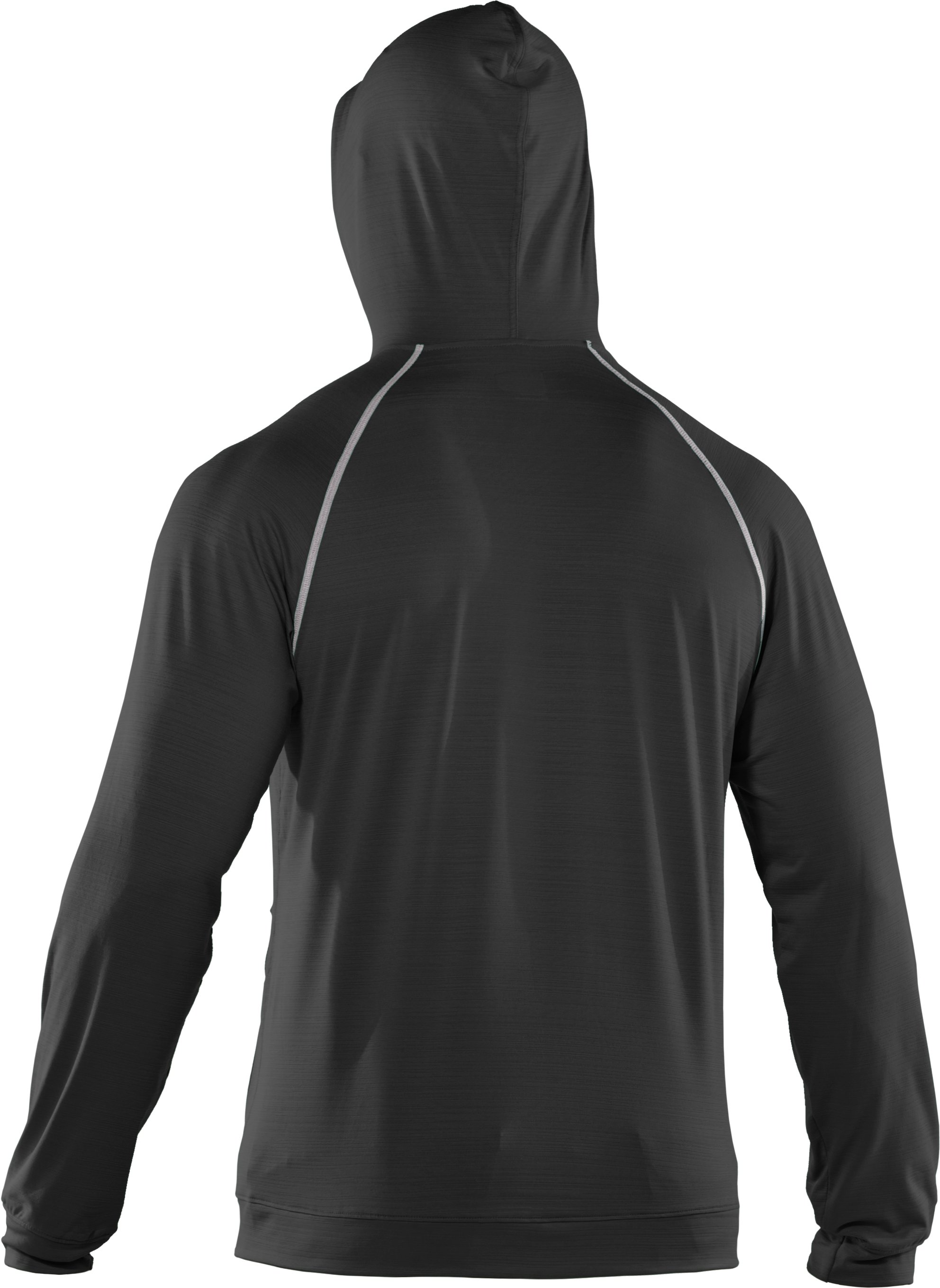 Men's UA Tour Full Zip Hoodie, Black
