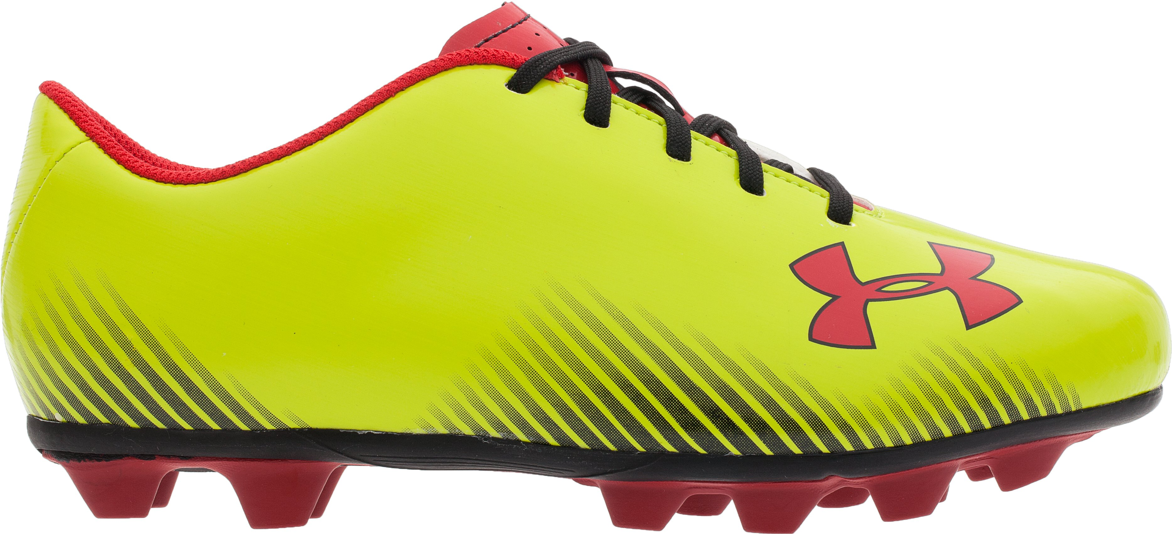 Youth UA Blur II HG Cleats, Velocity, zoomed image