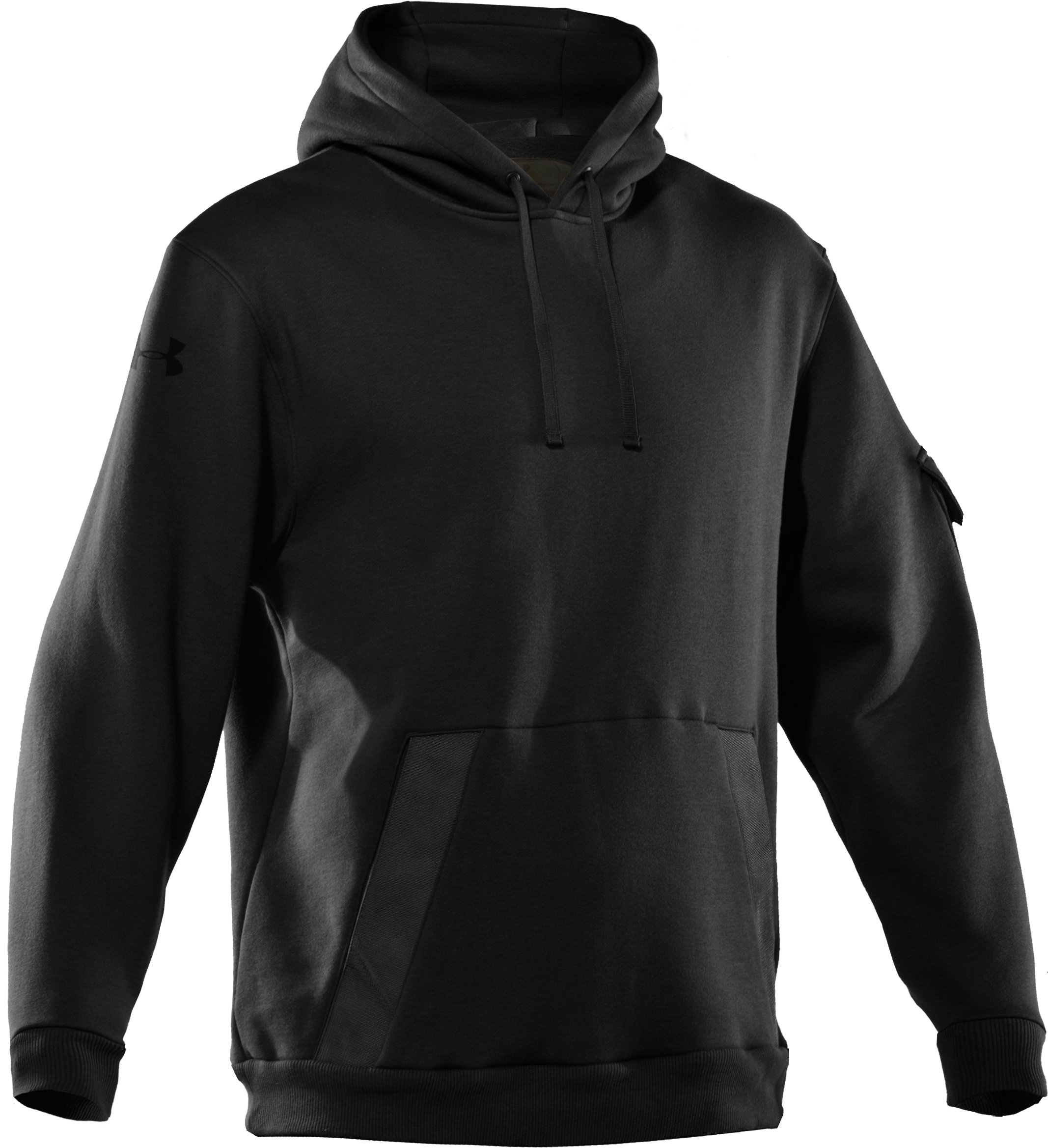 Men's UA Tactical Fleece Hoodie, Black