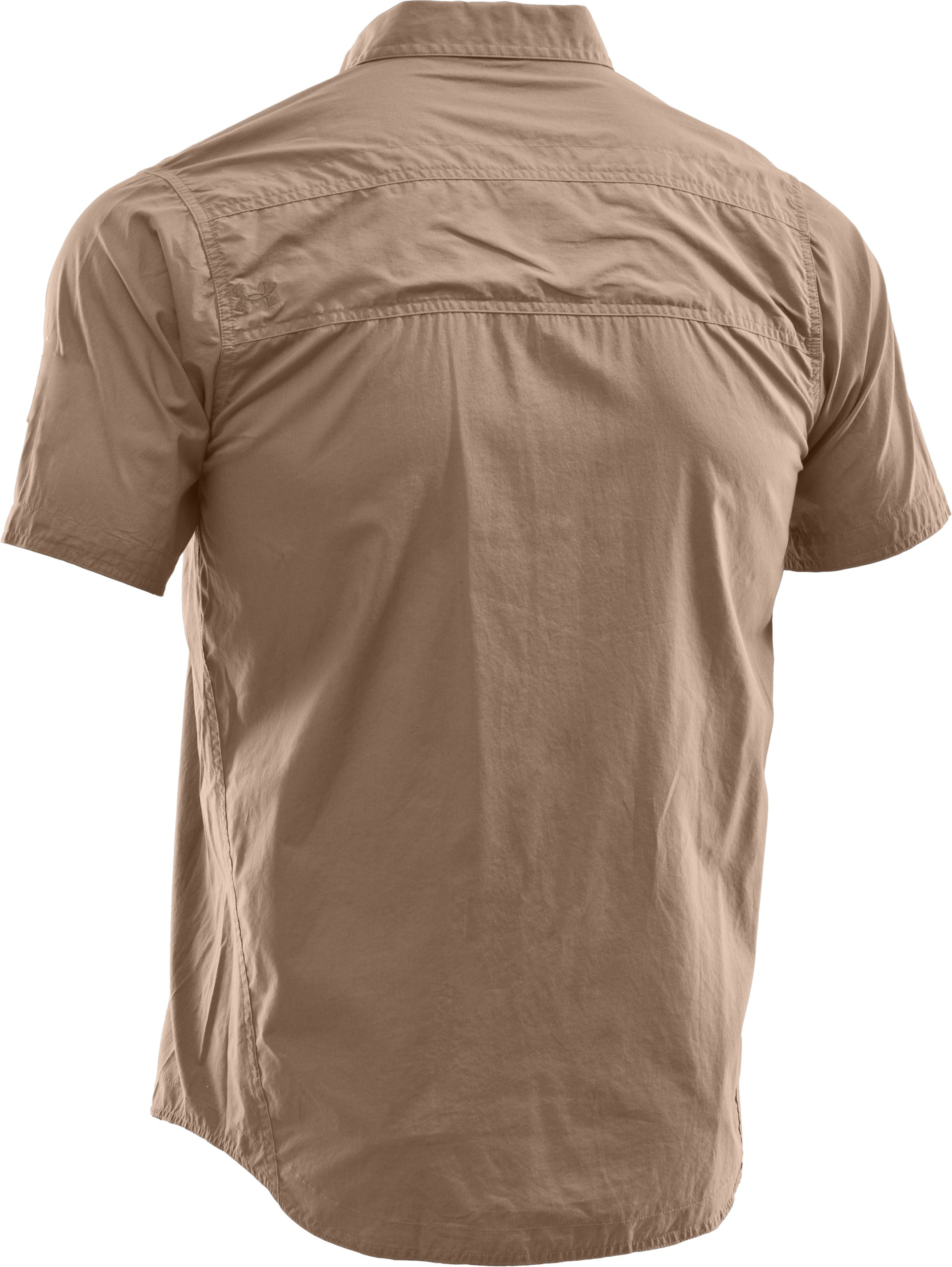 Men's Charged Cotton® Solid Short Sleeve, Fawn