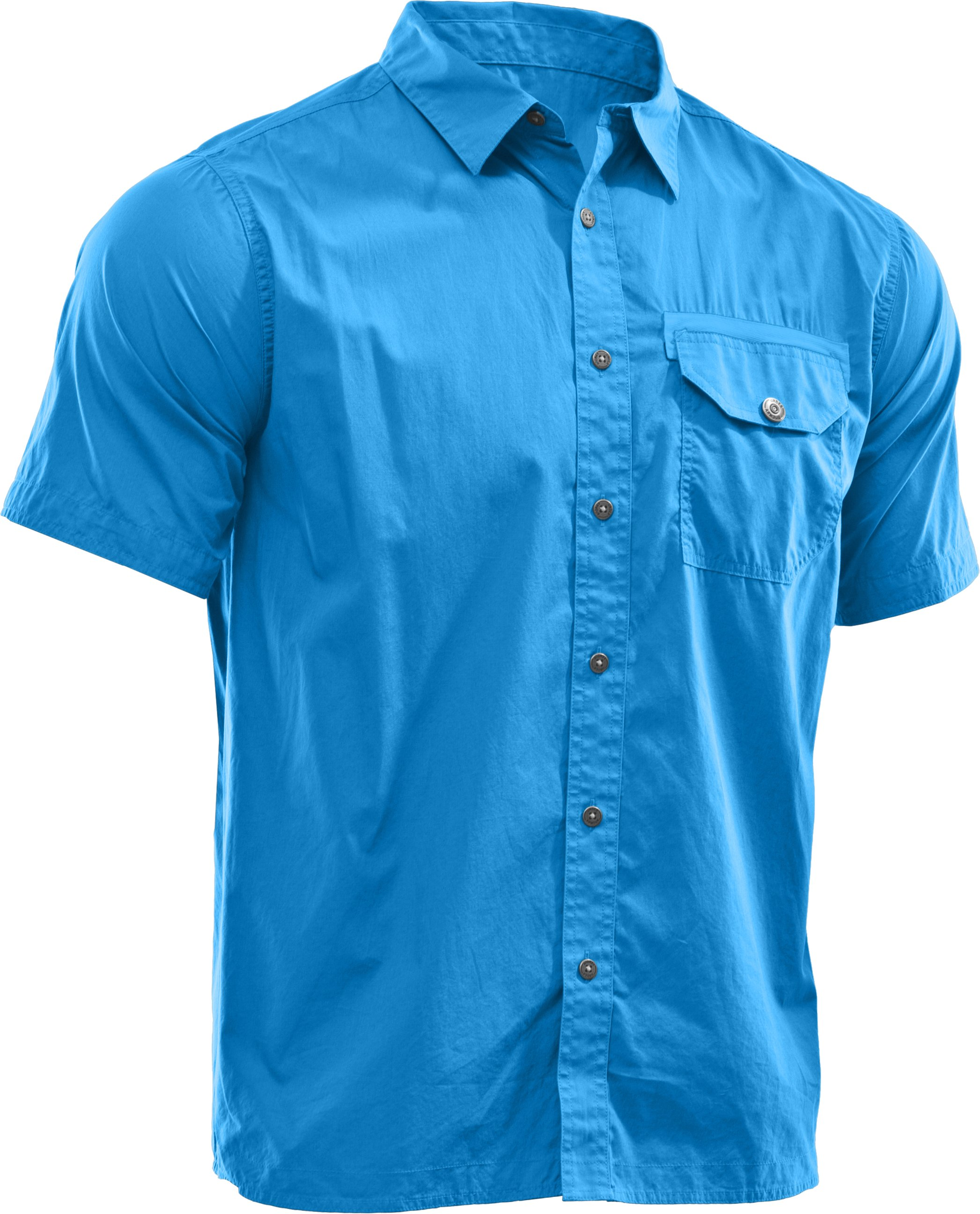 Men's Charged Cotton® Solid Short Sleeve, St. Tropez