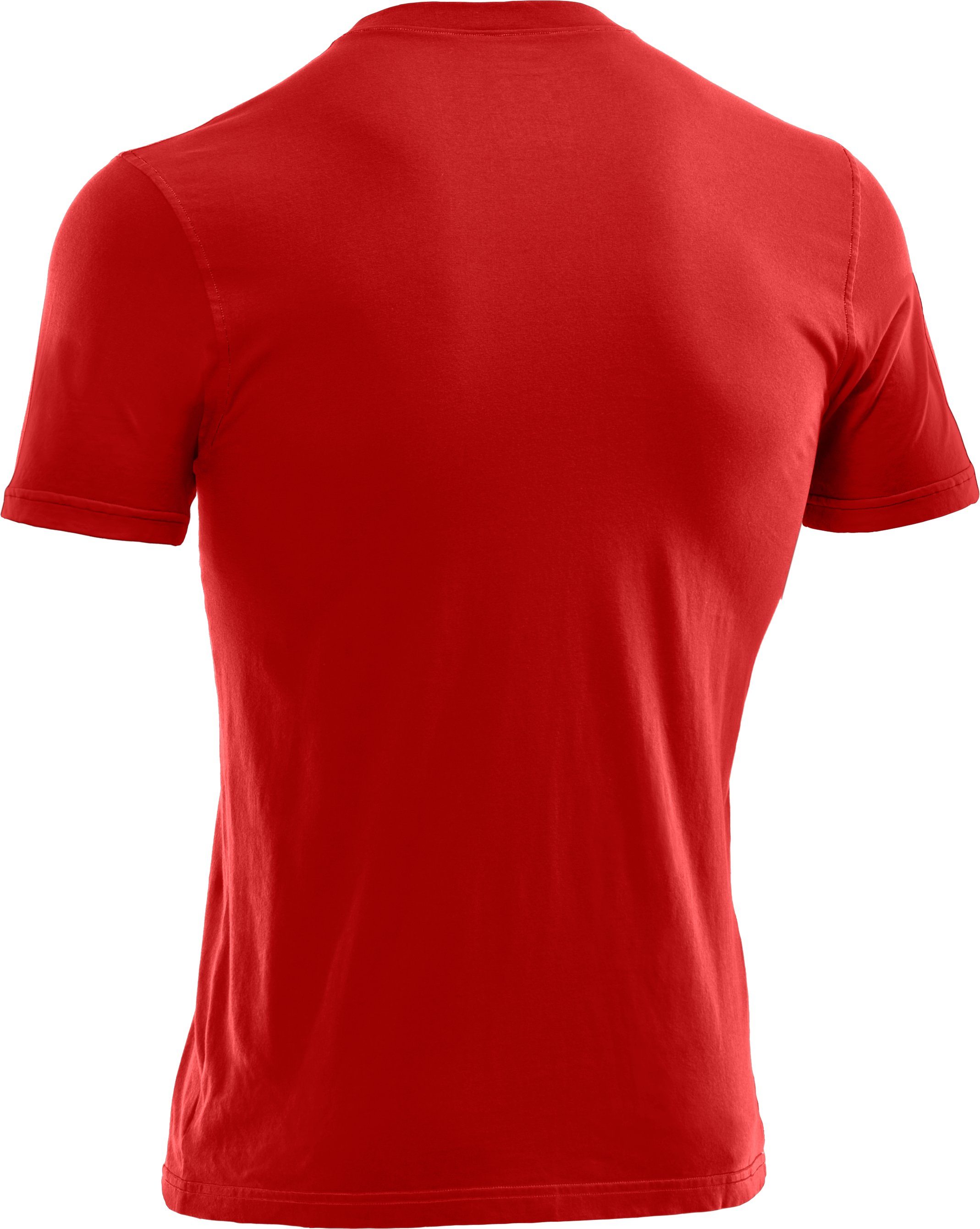 Men's Charged Cotton® Pocket T-Shirt, Fireball, undefined