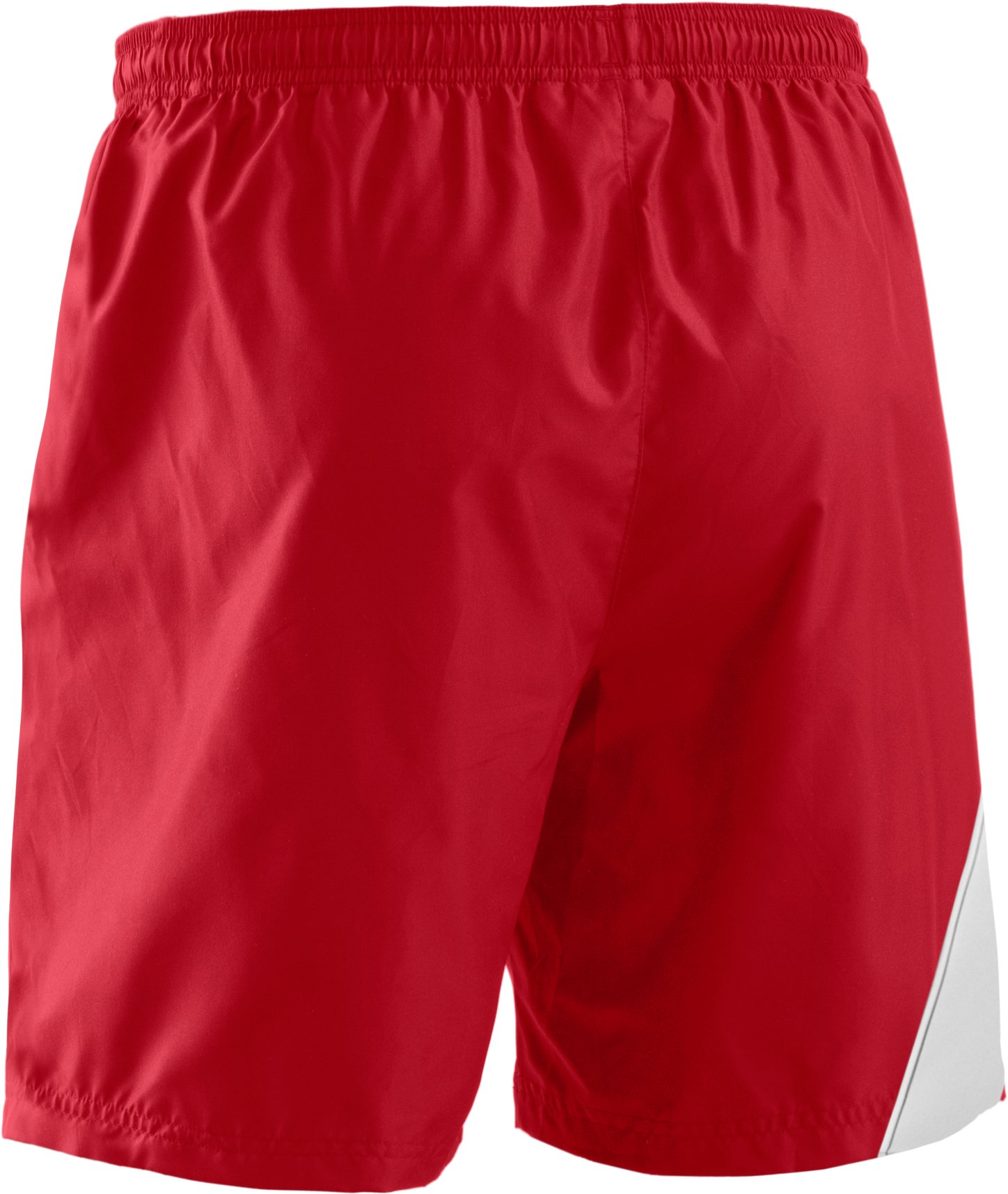 "Men's UA Chaos 7.5"" Soccer Shorts, Red"