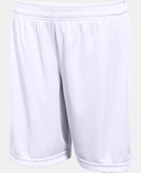 "Boys' UA Chaos 7"" Soccer Shorts  1 Color $19.99"