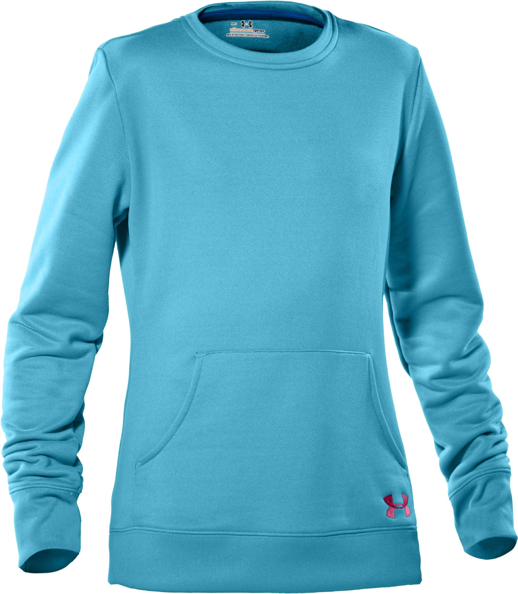 Girls' Long Sleeve French Terry Crew, Tobago, undefined
