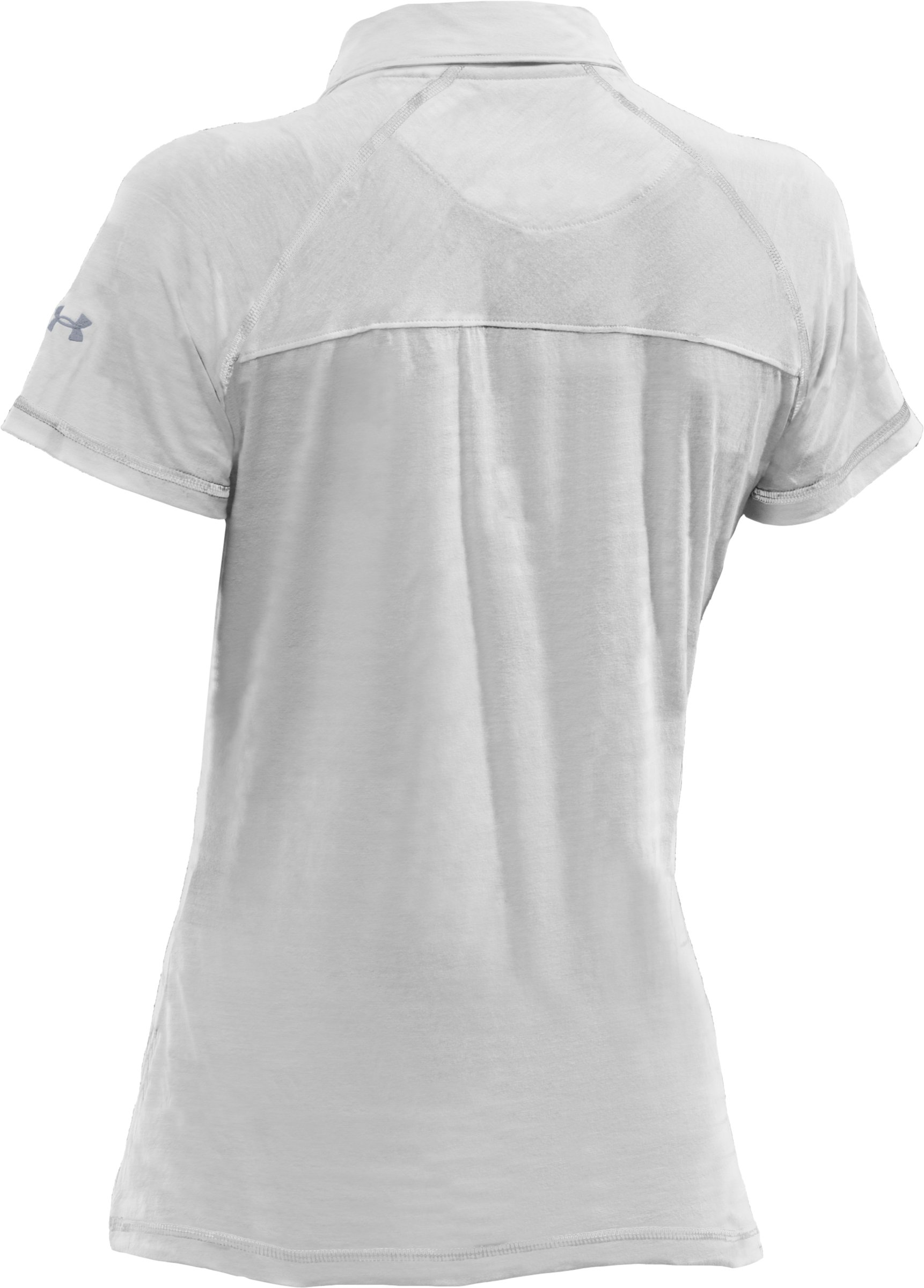 Women's UA T-Shirt Polo, White