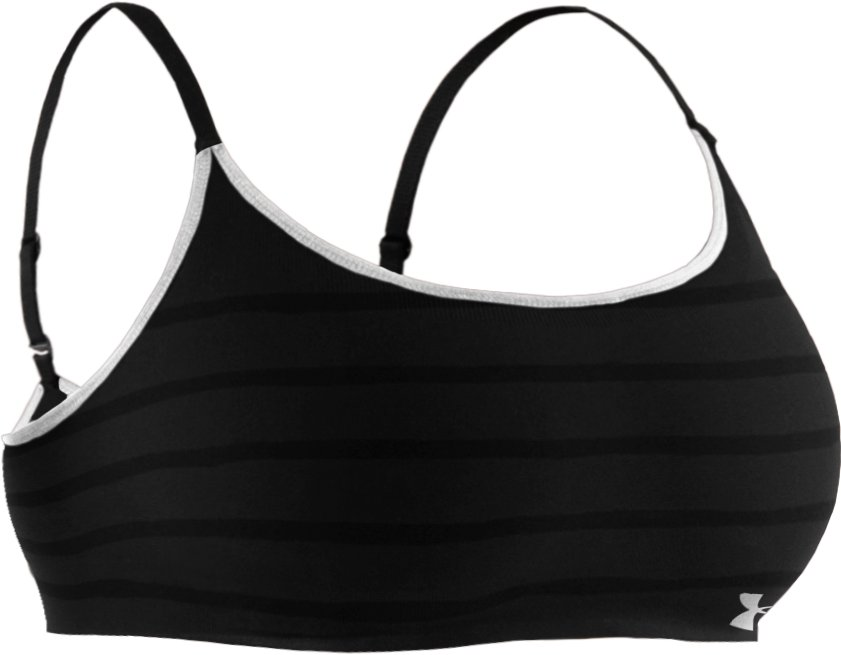 Women's UA Seamless Bralette, Black , undefined