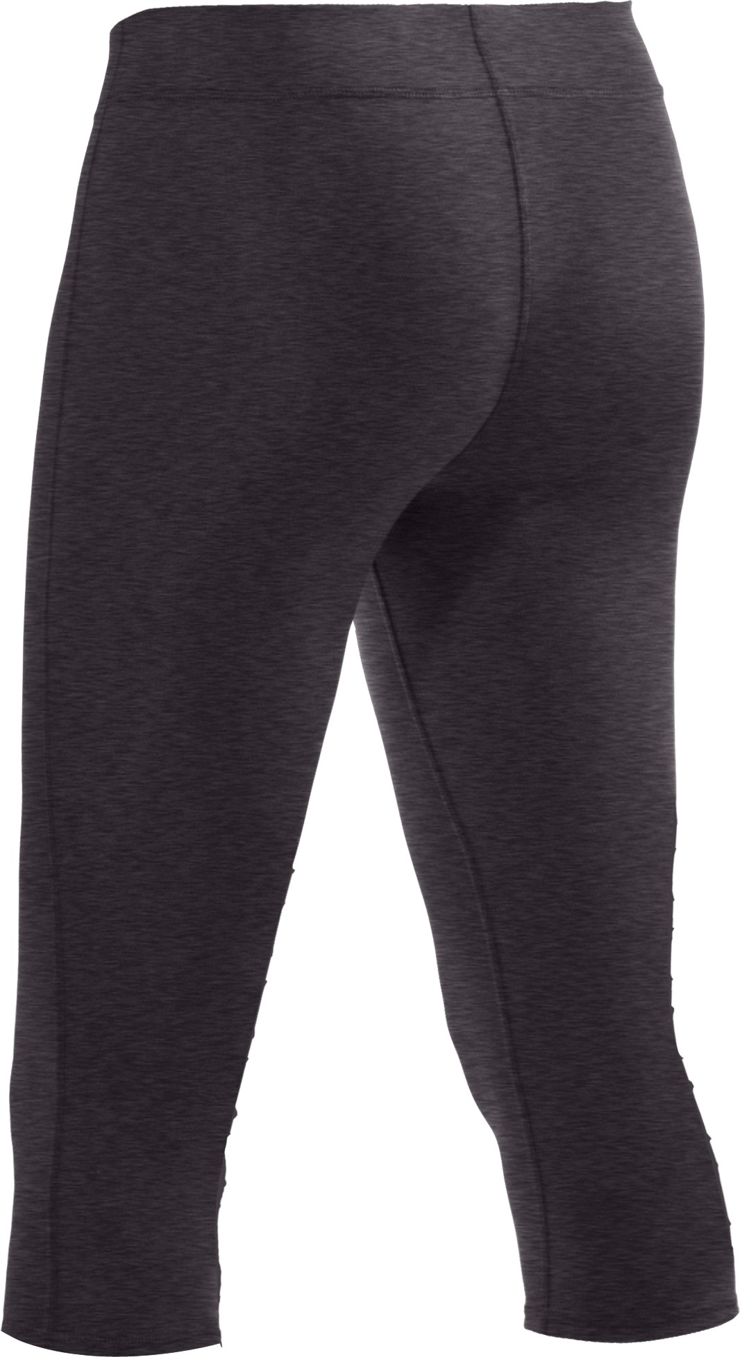 "Women's HeatGear® Squat 15"" Capri, Black , undefined"
