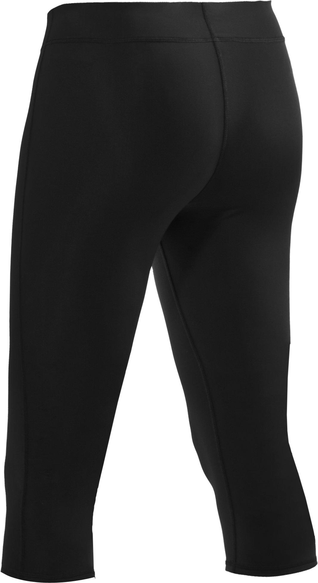 "Women's HeatGear® Squat 15"" Capri, Carbon Heather, undefined"