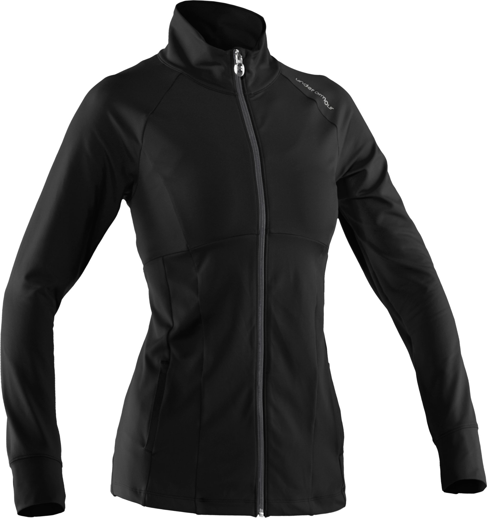 Women's UA Charm Full Zip, Black