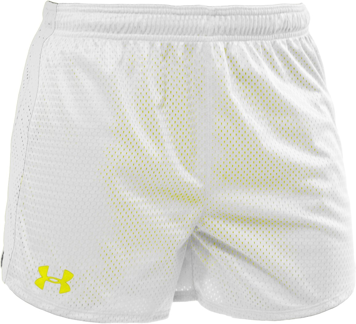 "Women's UA Trophy 5"" Short, White"