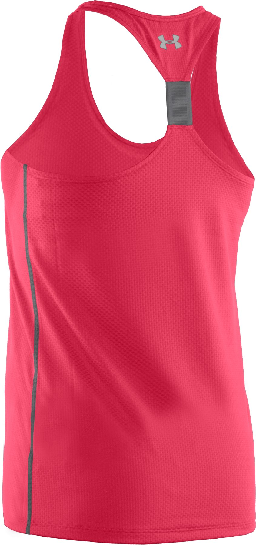 Women's UA Fly-By Stretch Mesh Tank, Hibiscus