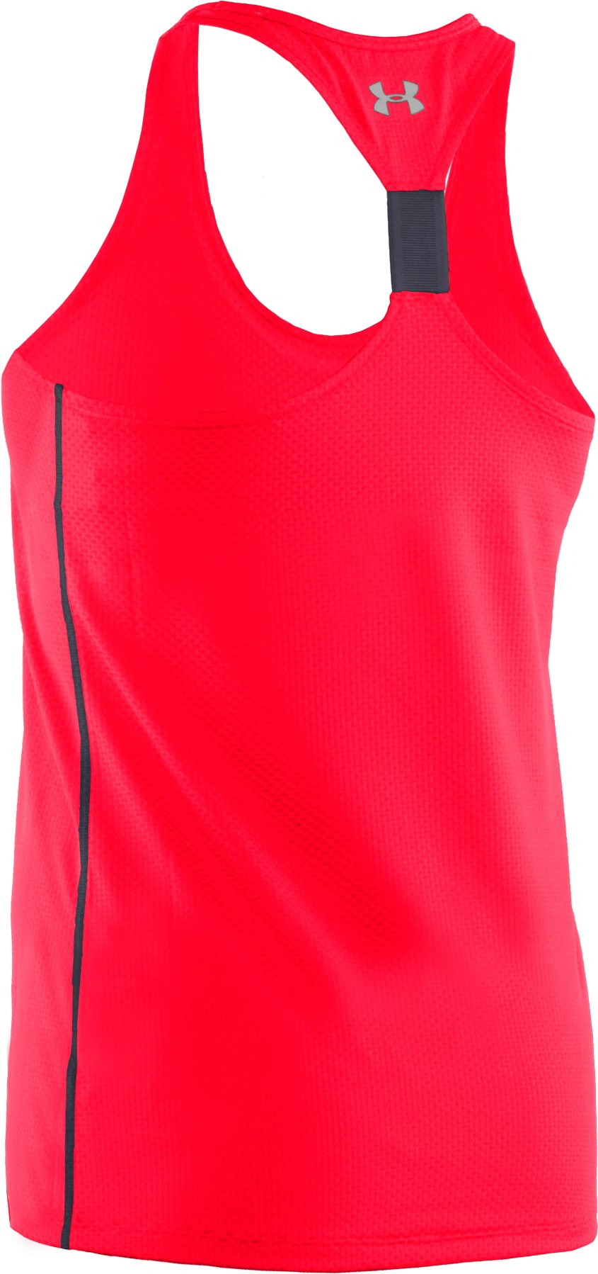 Women's UA Fly-By Stretch Mesh Tank, Neo Pulse