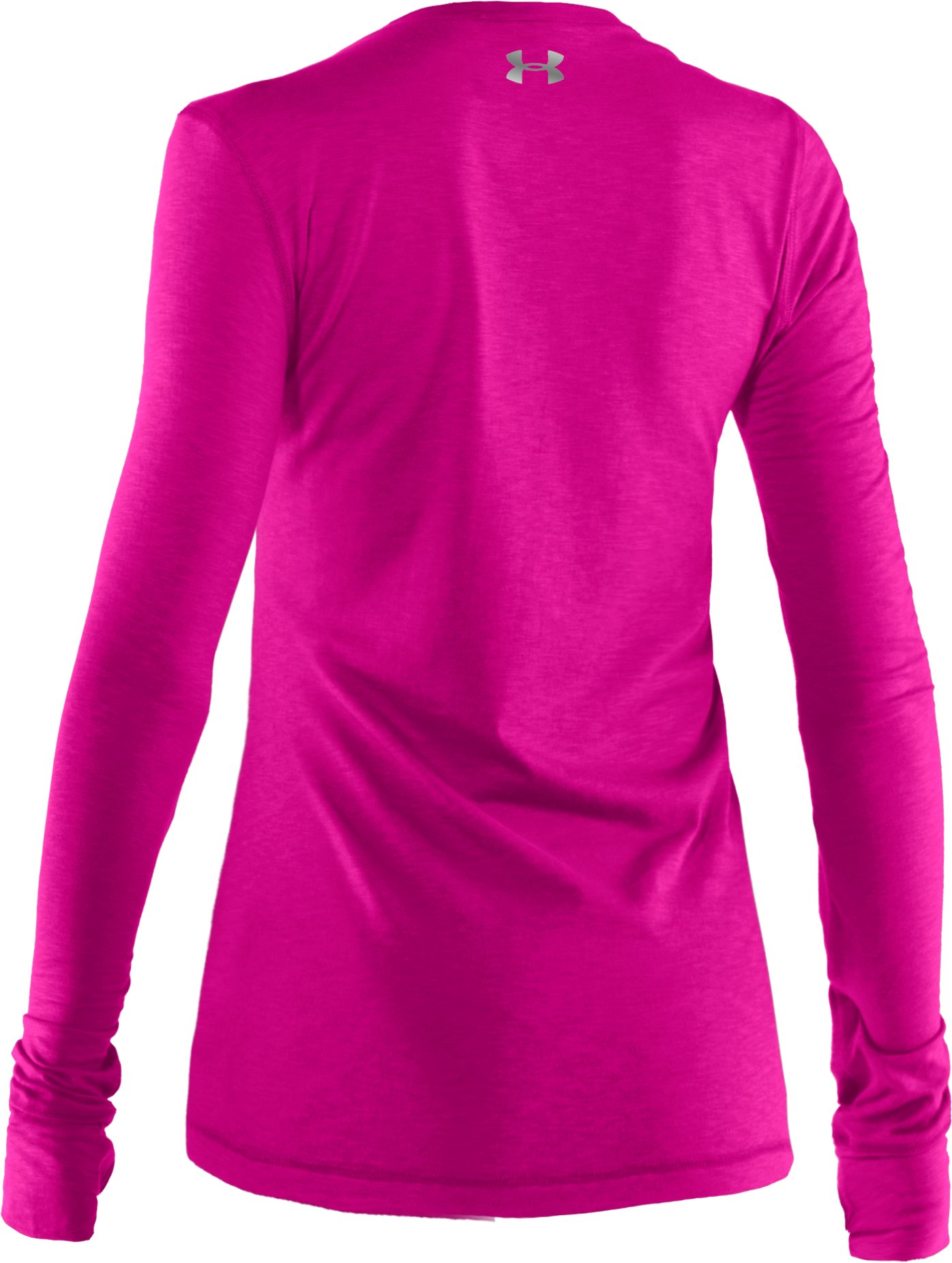 Women's UA Charm Long Sleeve Shirt, Tropic Pink,