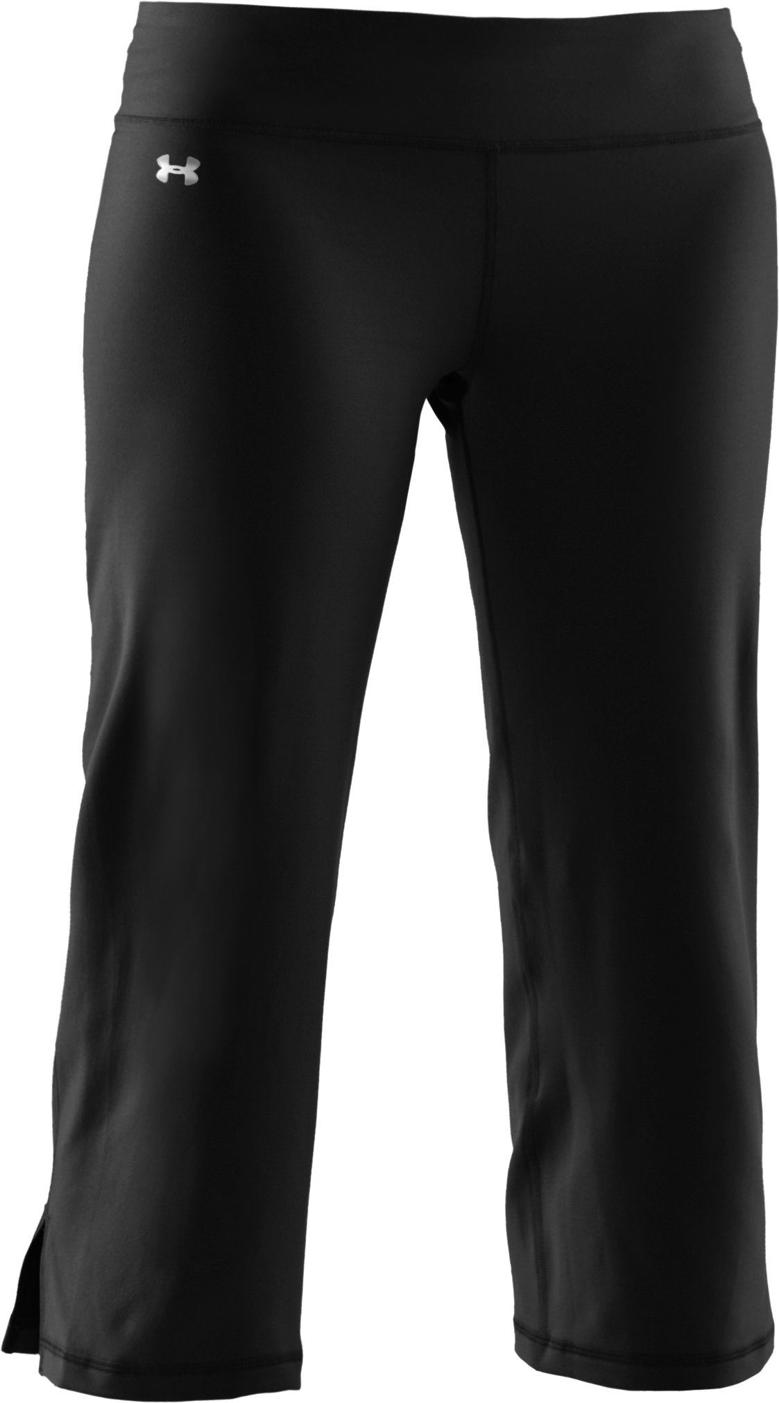 Women's UA Perfect Capri, Black , undefined
