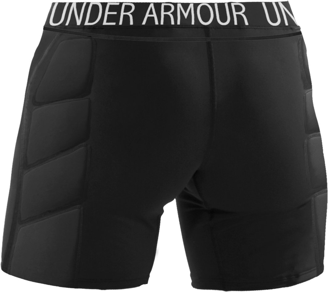 "Women's UA MPZ® Strike-Zone 7"" Slider, Black"