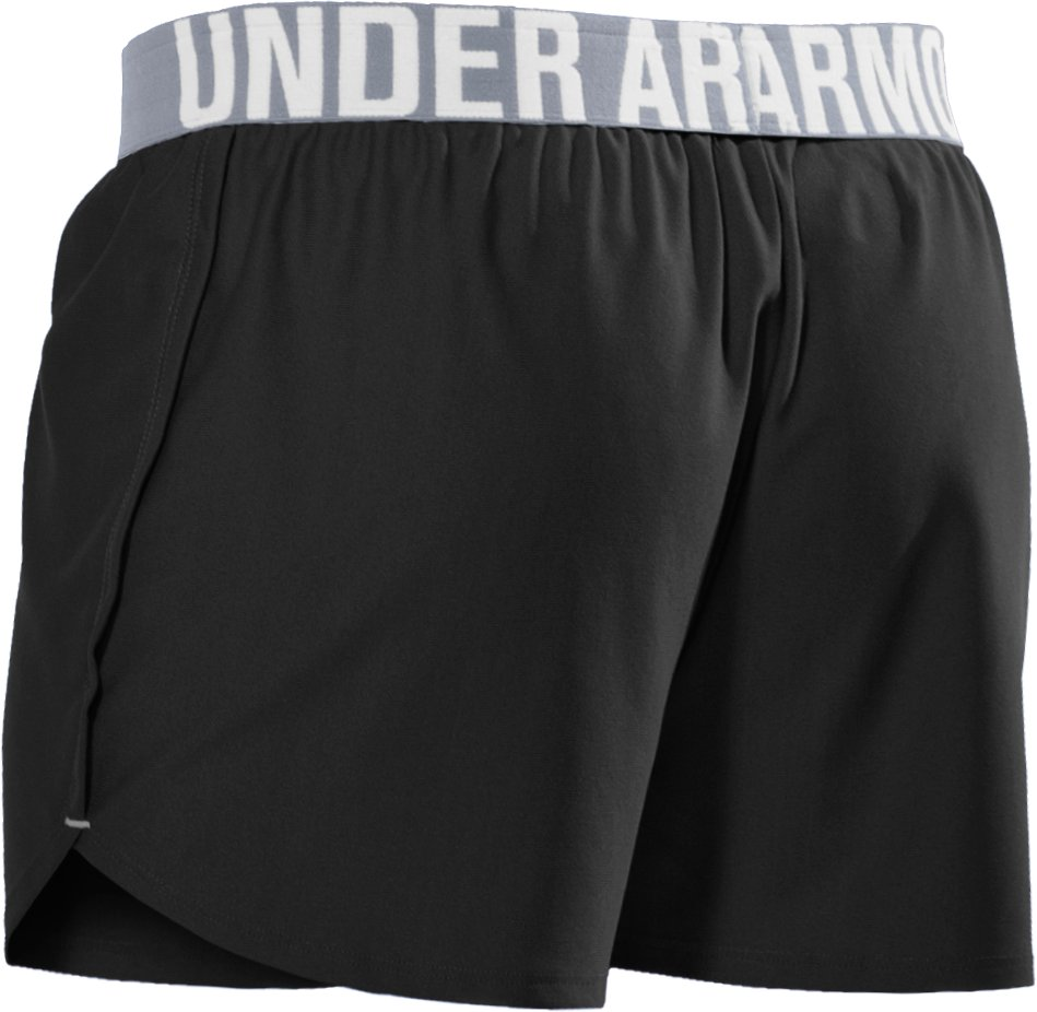 "Women's Play Up 3"" Short, Black , undefined"