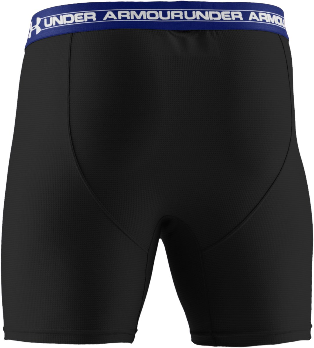 "Men's UA Mesh Series 6"" Boxerjock®, Black , undefined"