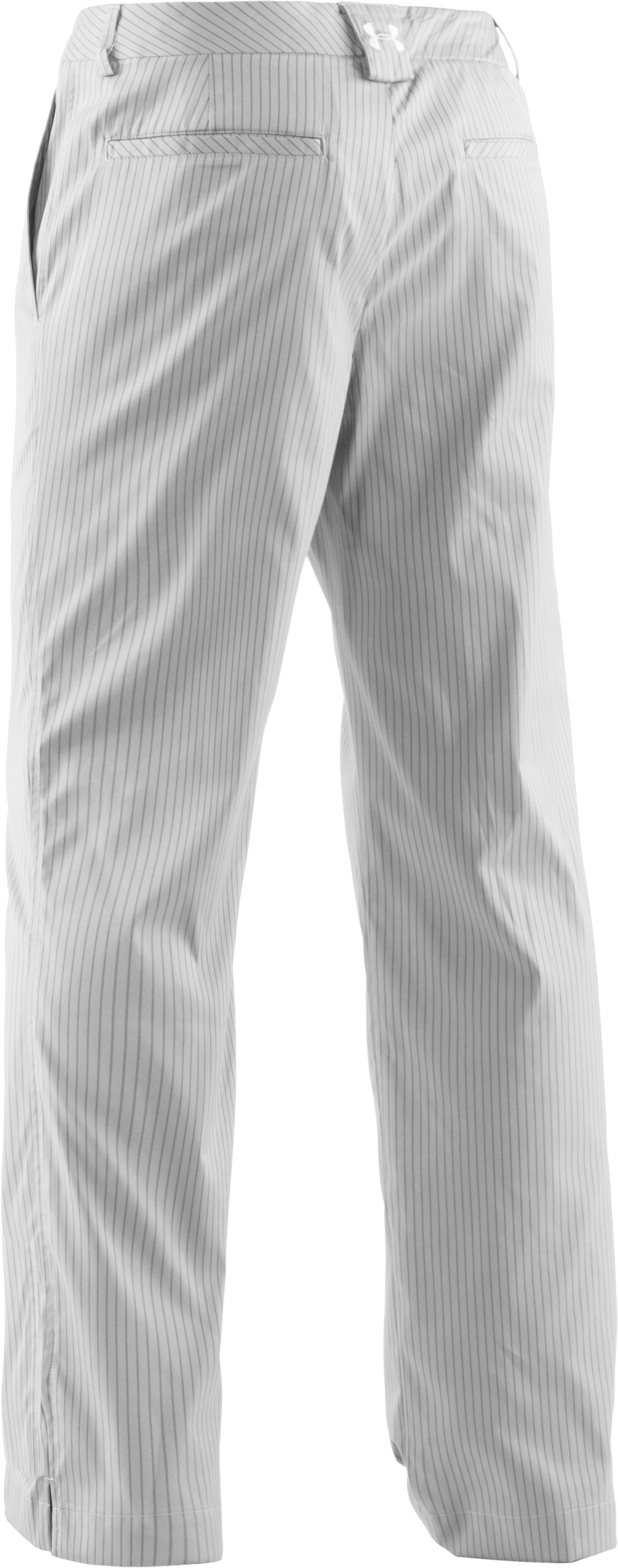 Men's UA Forged Stripe Pants 2.0, White