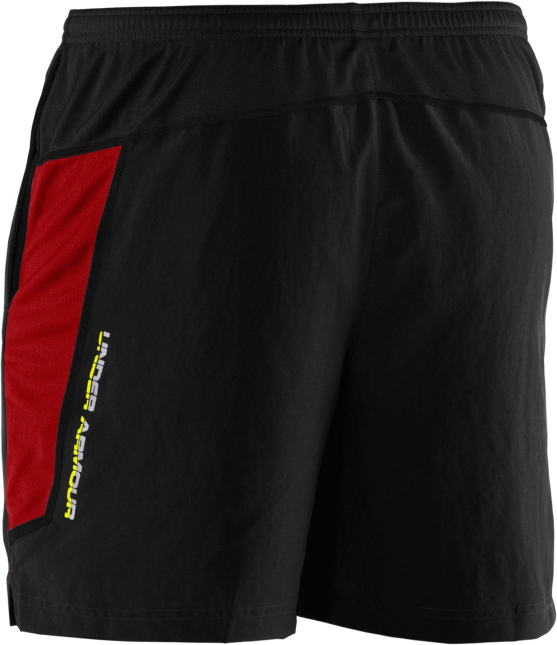 Men's UA Escape 7'' Woven Short, Black