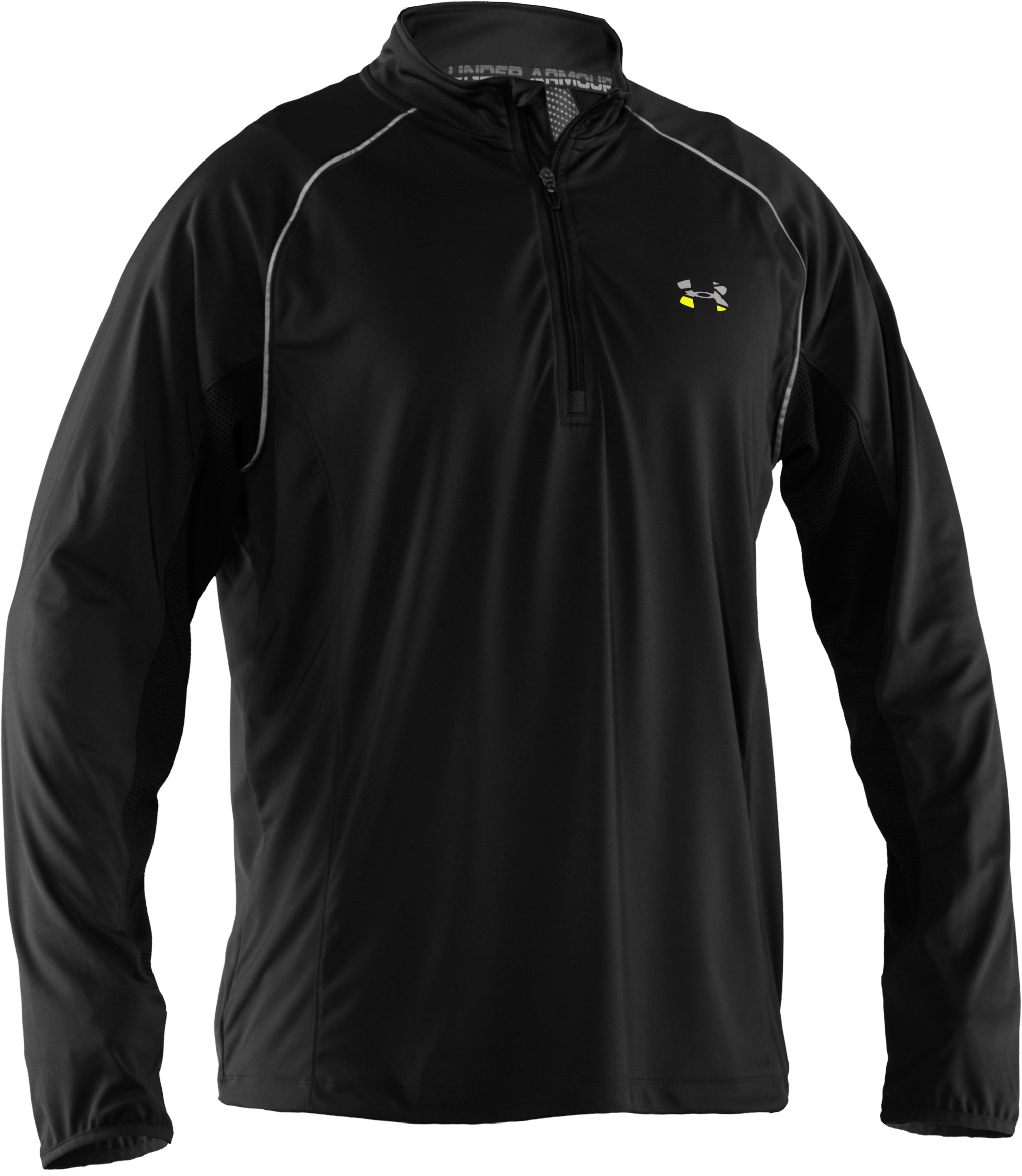 Men's UA Run ¼ Zip Jacket, Black