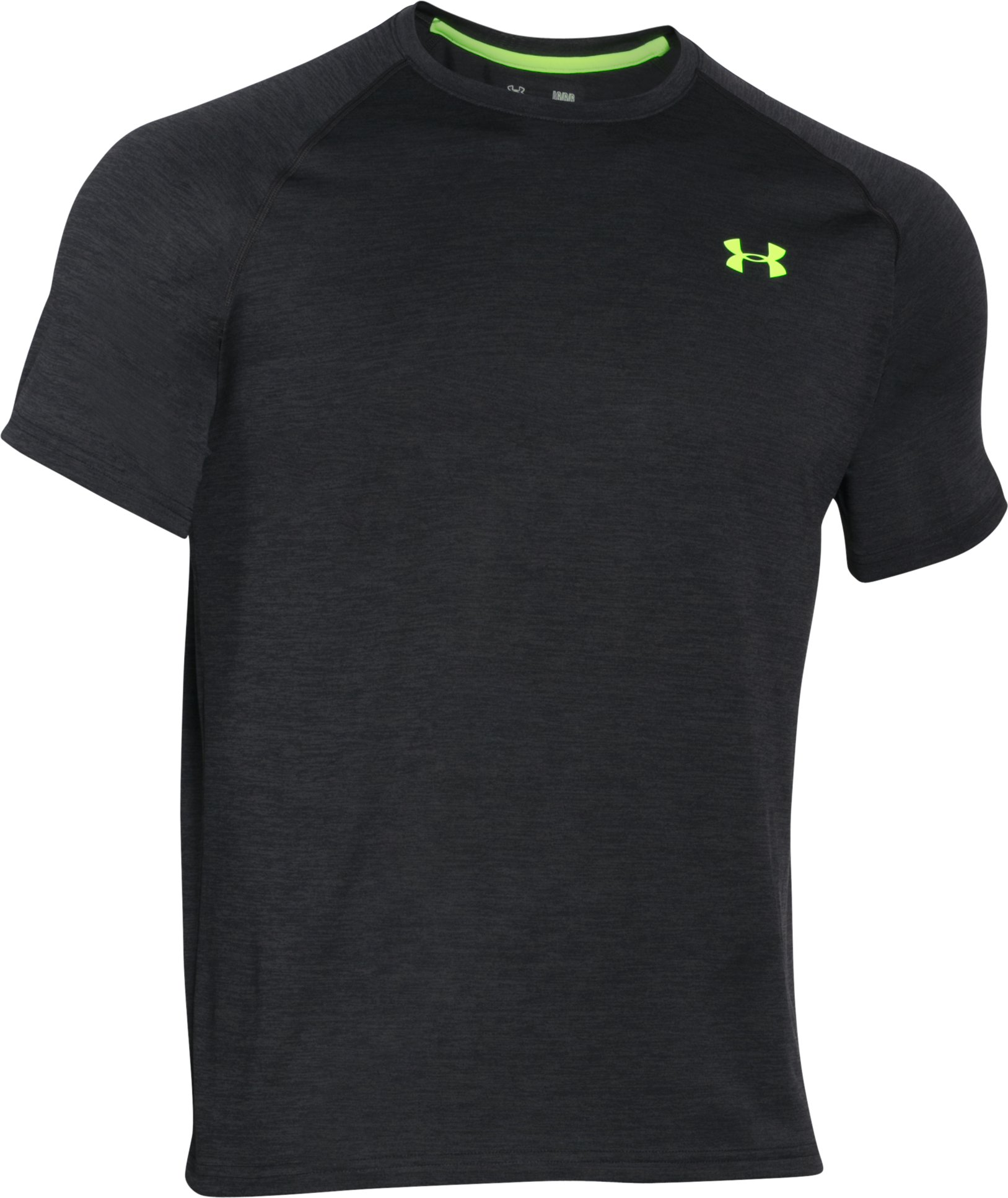 Men's UA Tech™ Short Sleeve T-Shirt, Black