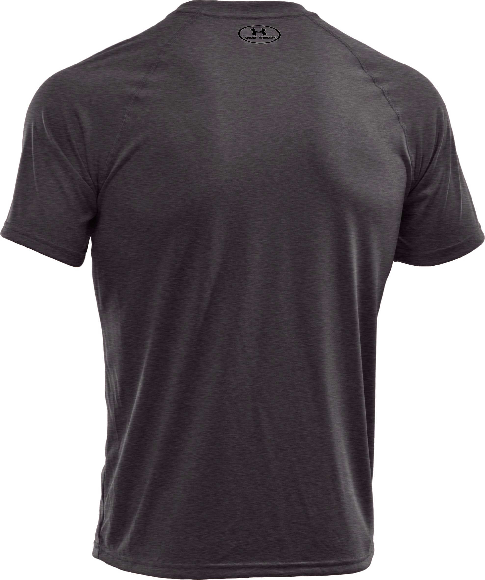 Men's UA Tech™ Short Sleeve T-Shirt, Carbon Heather