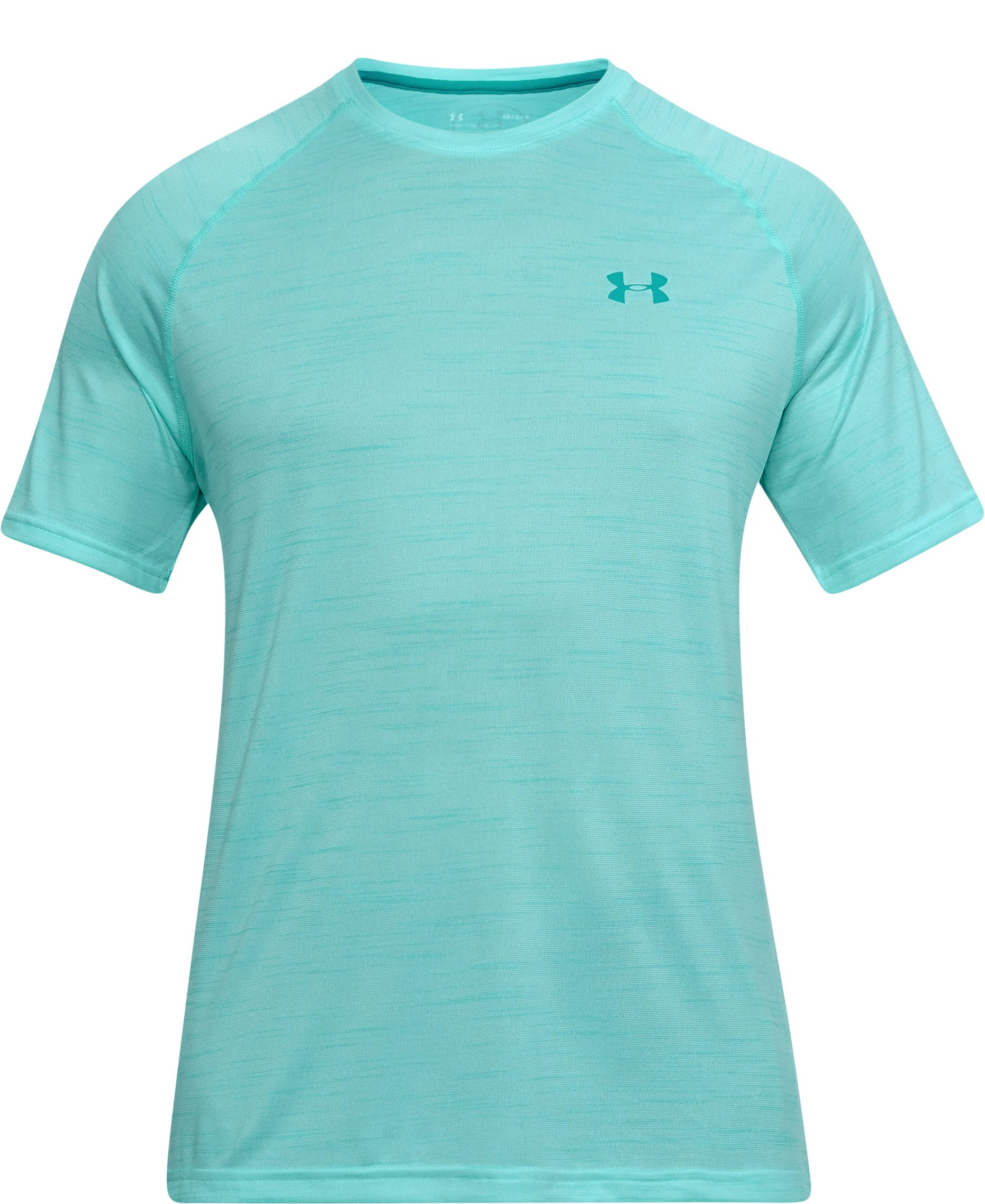 Men's UA Tech™ Short Sleeve T-Shirt, TROPICAL TIDE,