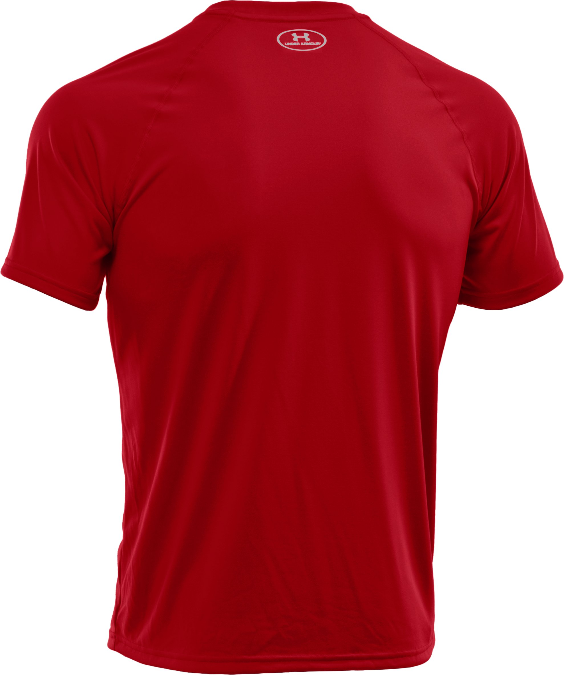 Men's UA Tech™ Short Sleeve T-Shirt, Red,