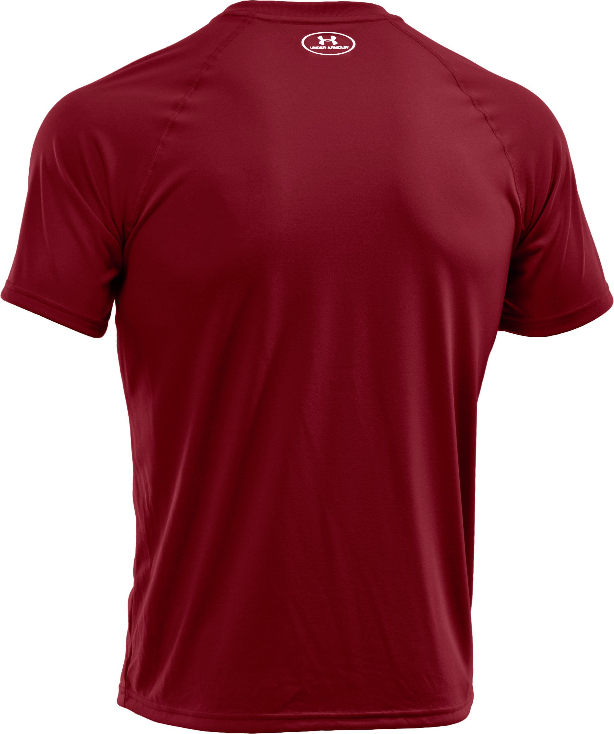 Men's UA Tech™ Short Sleeve T-Shirt, Crimson