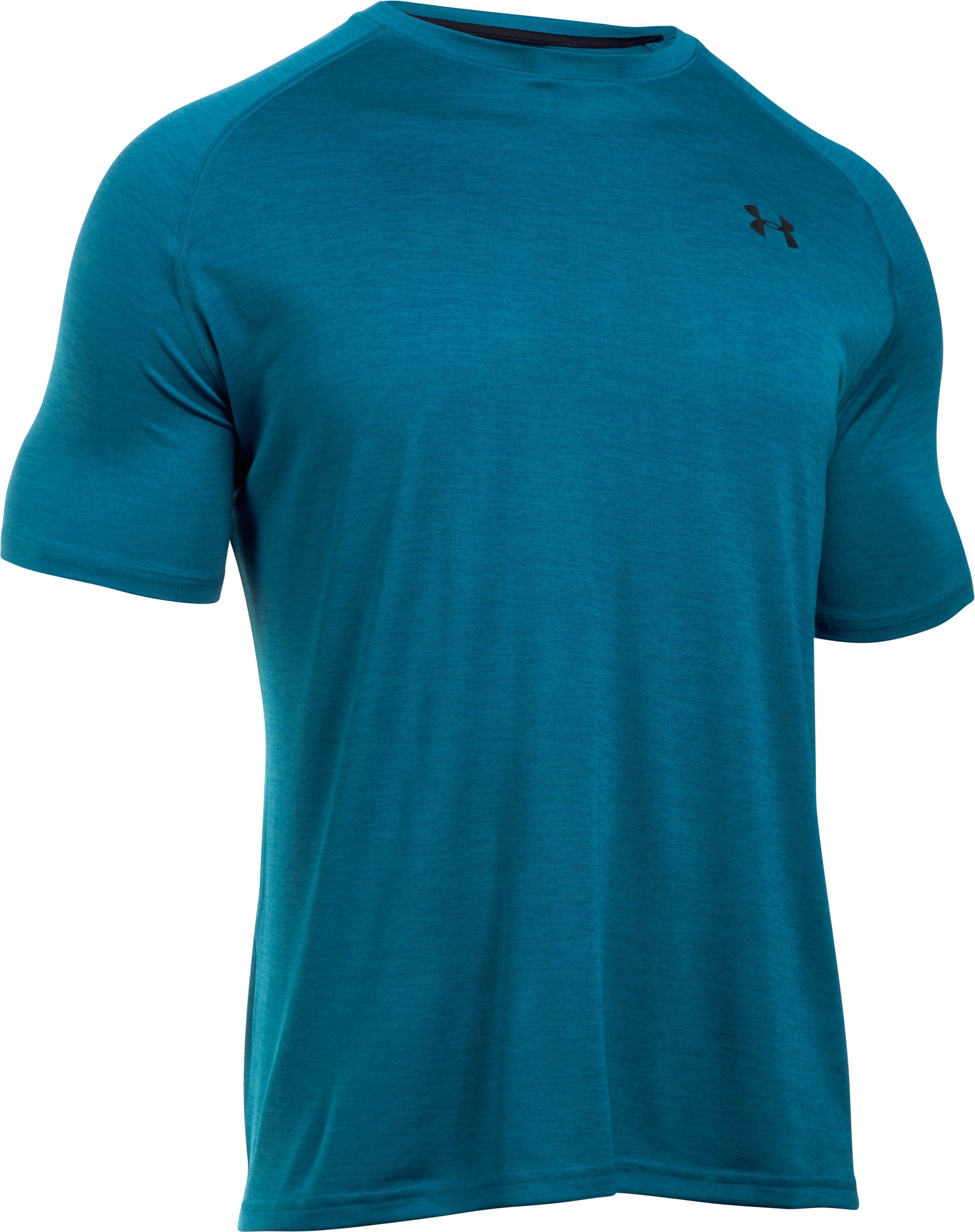 Men's UA Tech™ Short Sleeve T-Shirt, PEACOCK