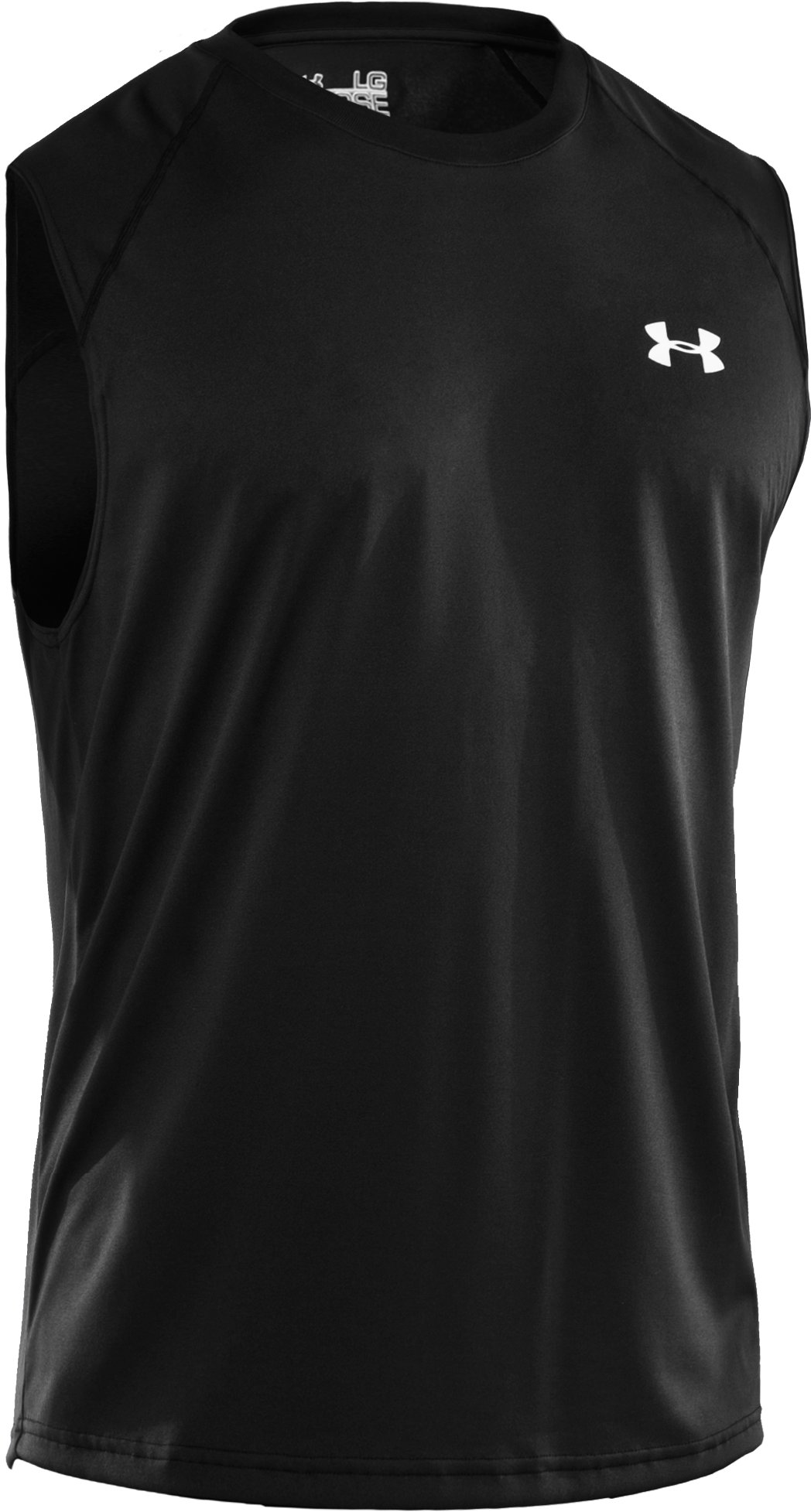 Men's UA Tech™ Sleeveless T-Shirt, Black