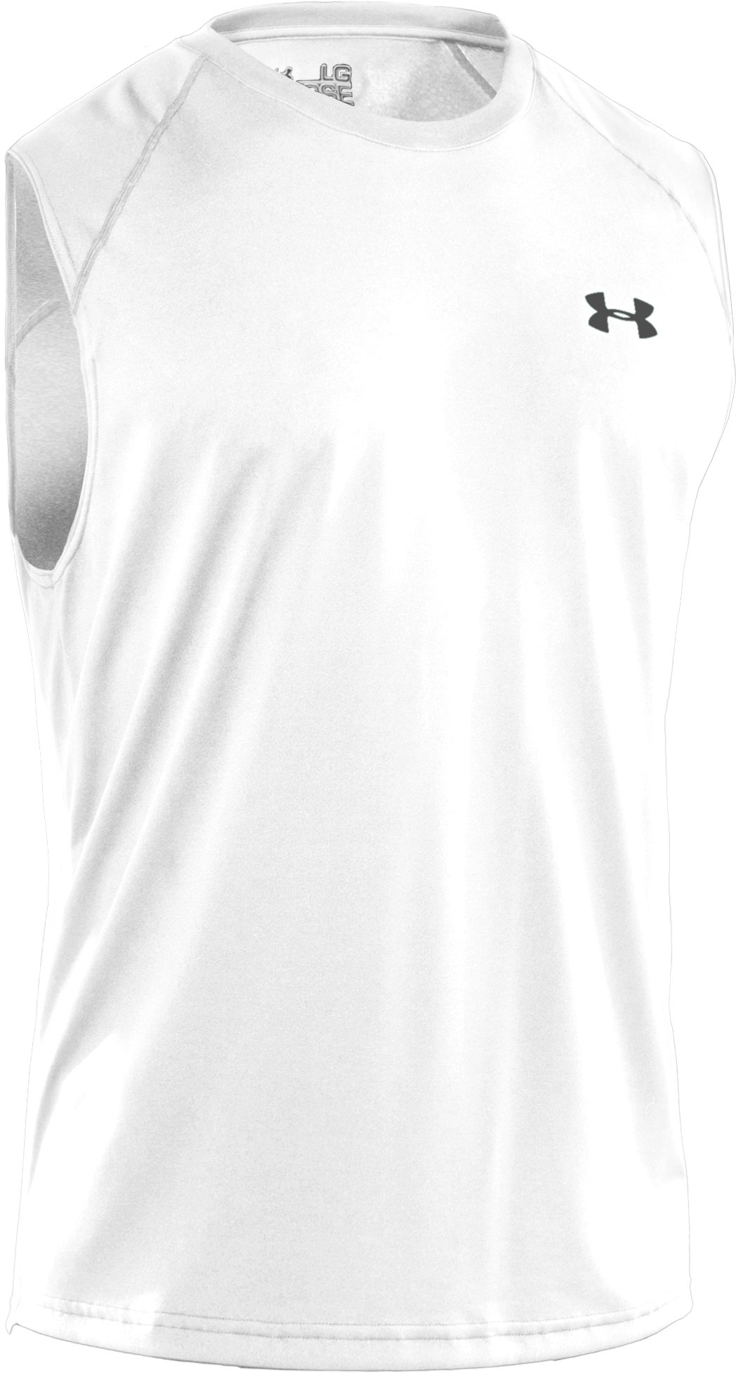 Men's UA Tech™ Sleeveless T-Shirt, White