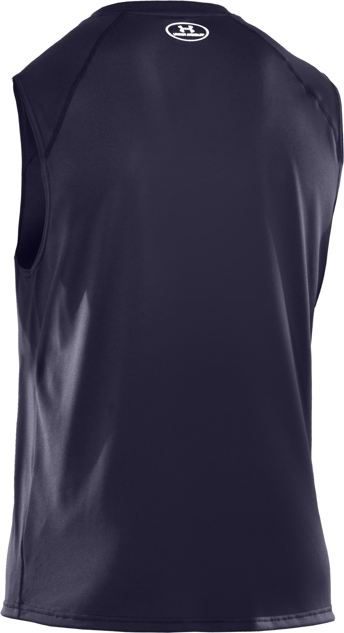 Men's UA Tech™ Sleeveless T-Shirt, Midnight Navy, undefined